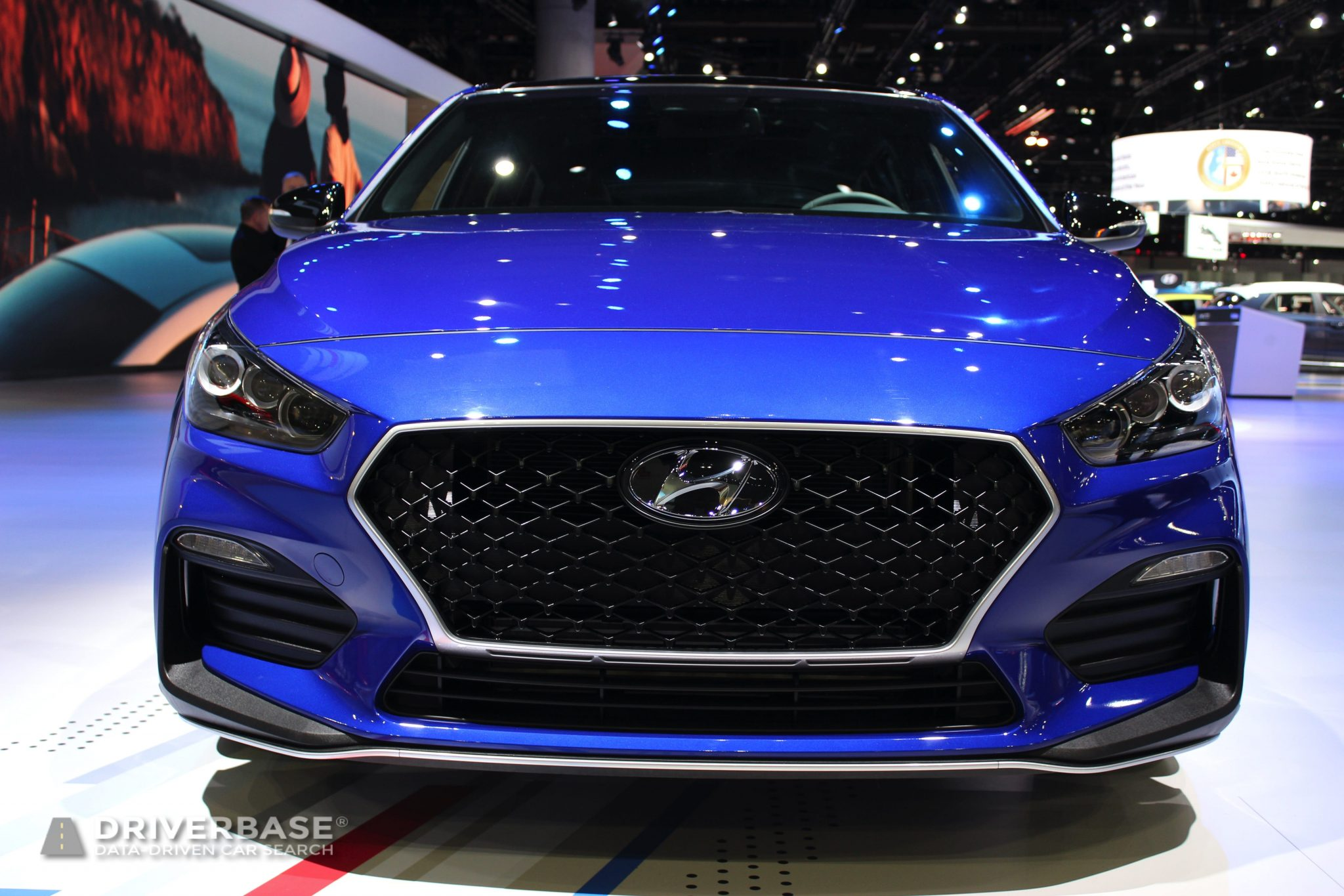 2020 Hyundai Elantra GT at the 2019 Los Angeles Auto Show