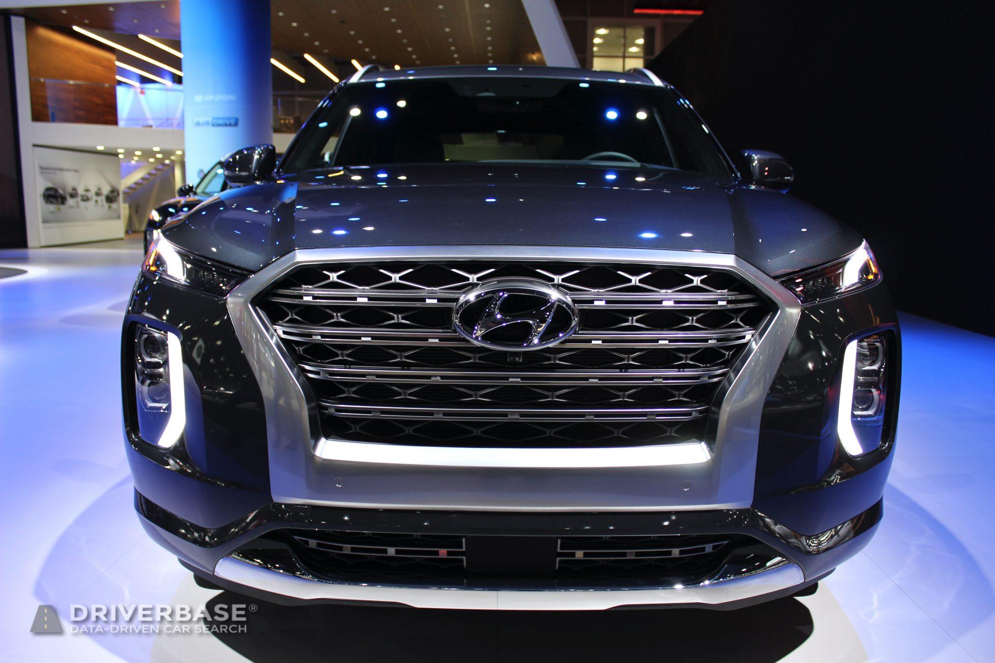 2020 Hyundai Palisade Limited at the 2019 Los Angeles Auto Show