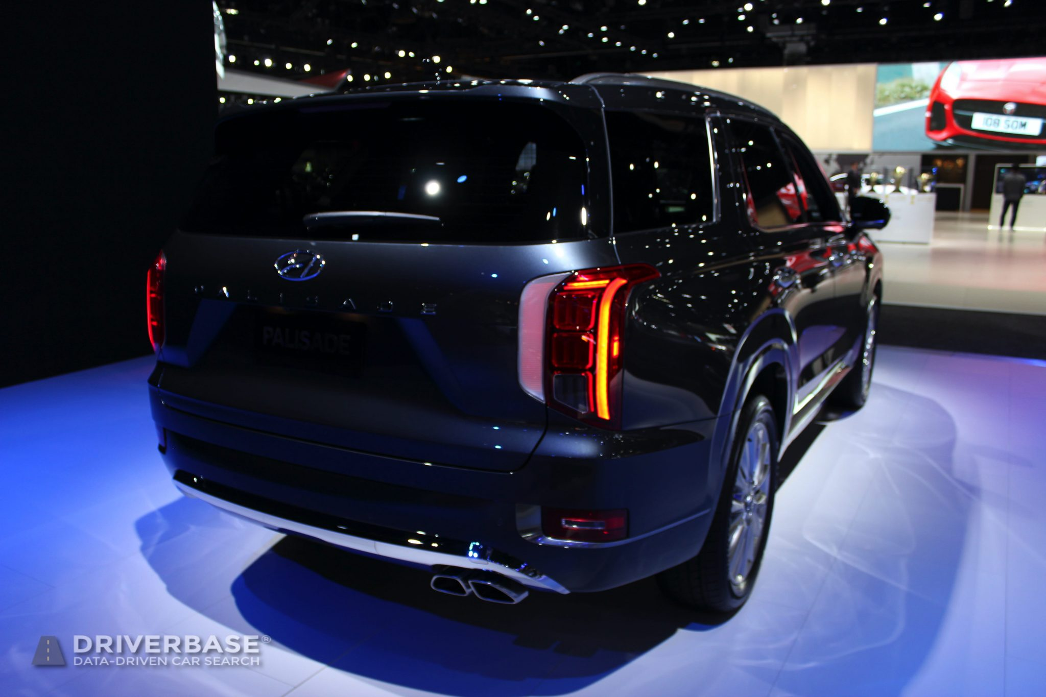 2020 Hyundai Palisade Limited at the 2019 Los Angeles Auto Show