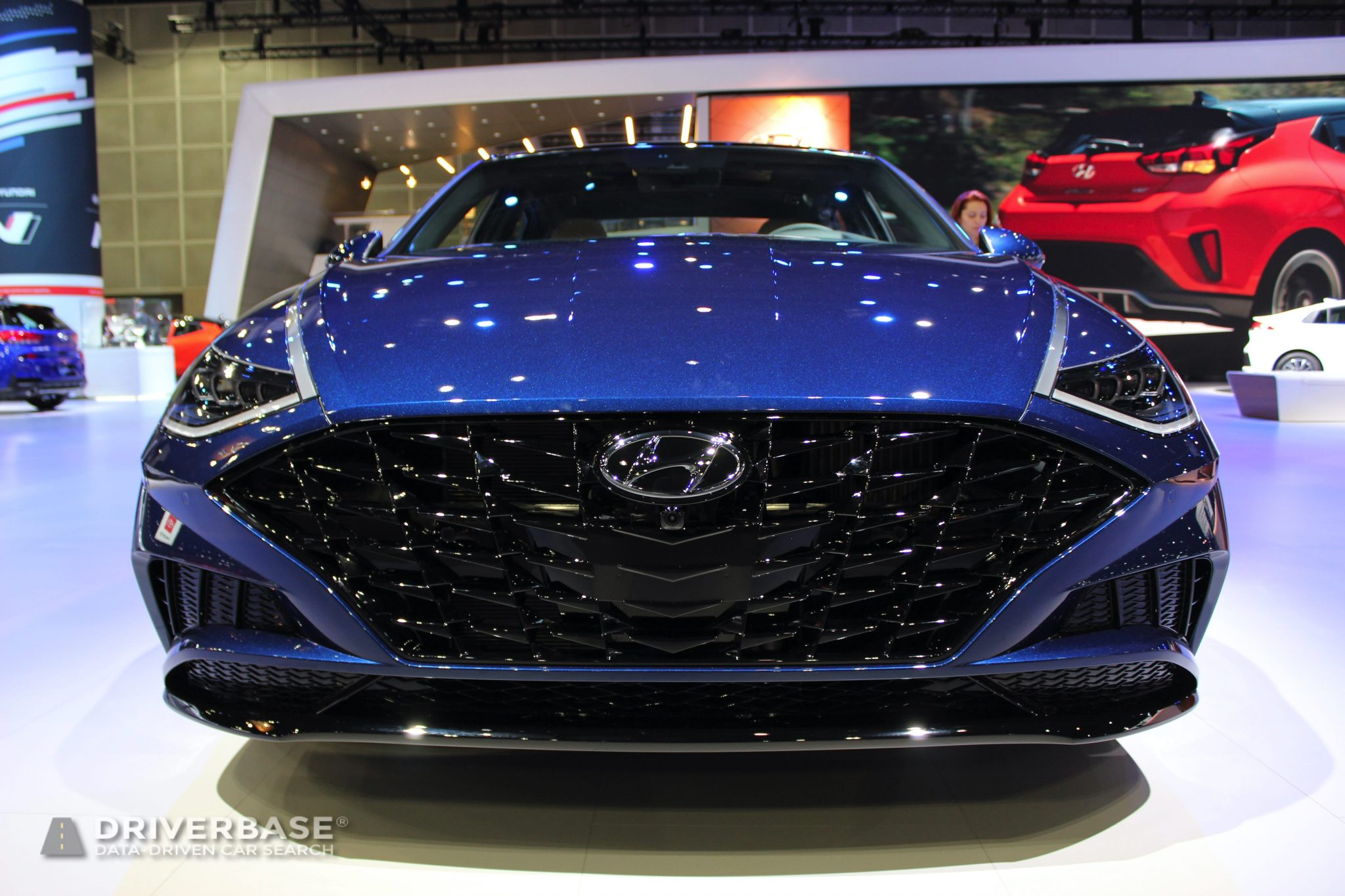 2020 Hyundai Sonata at the 2019 Los Angeles Auto Show