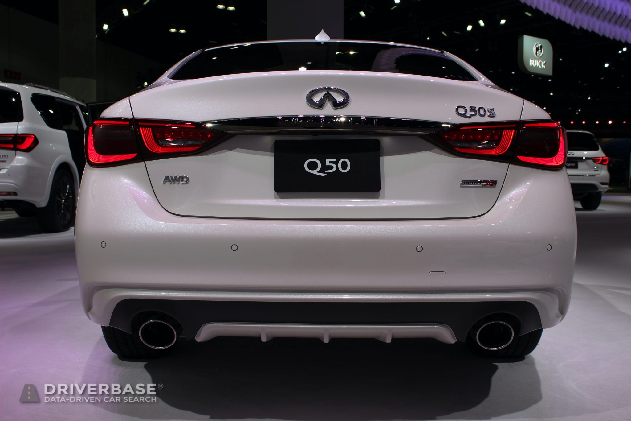 2020 Infiniti Q50S at the 2019 Los Angeles Auto Show