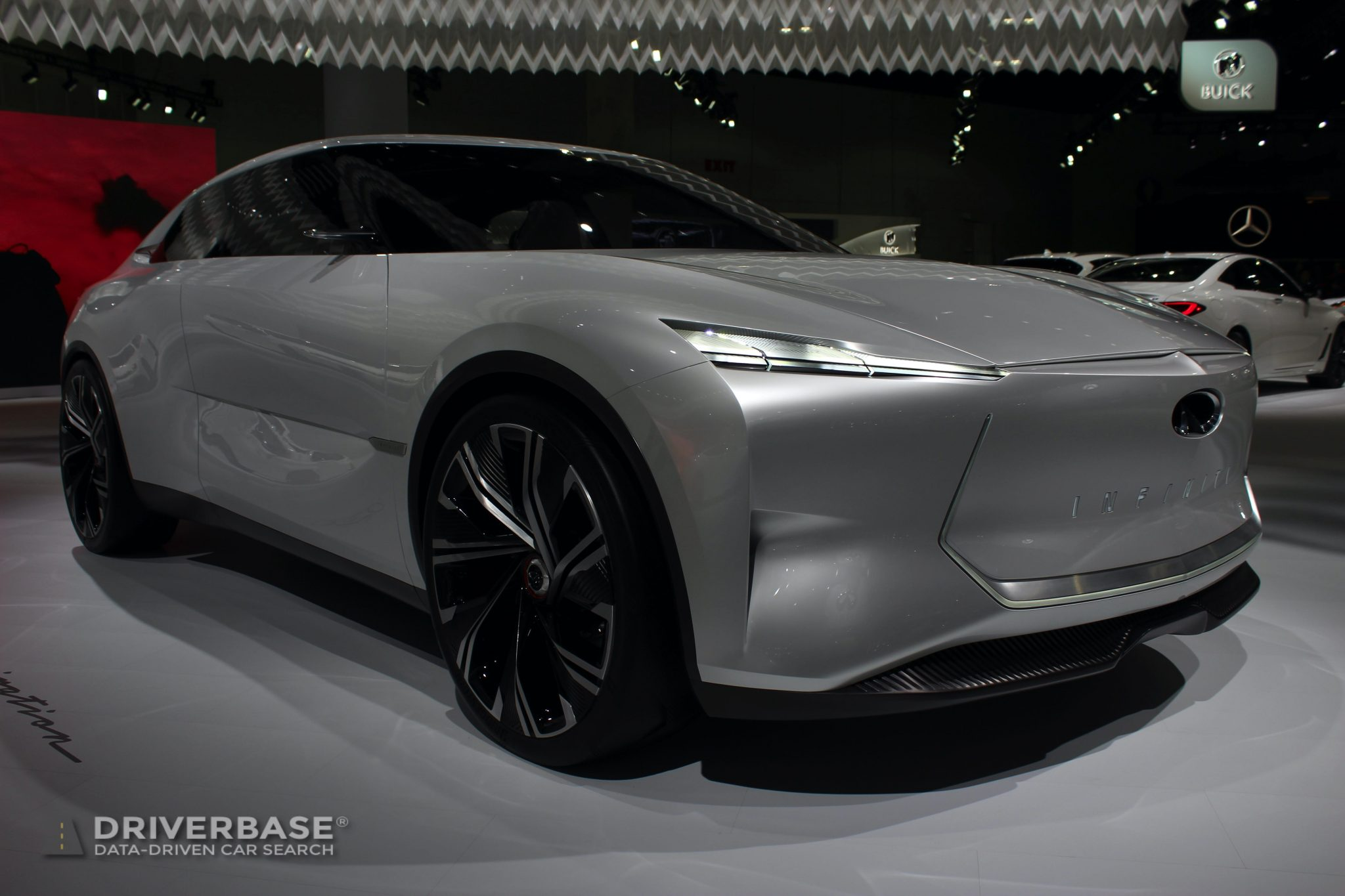 Infiniti QS Inspiration Concept at the 2019 Los Angeles Auto Show