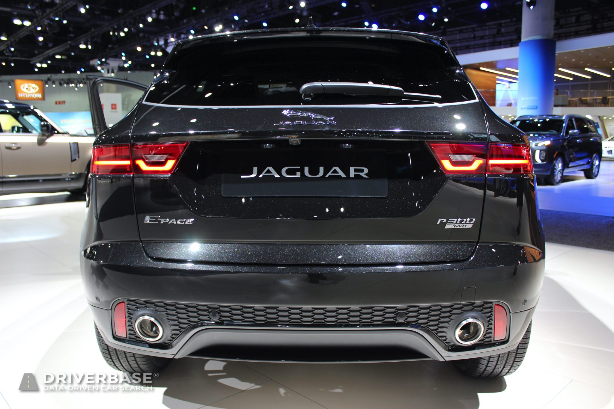 2020 Jaguar E Pace P300 at the 2019 Los Angeles Auto Show