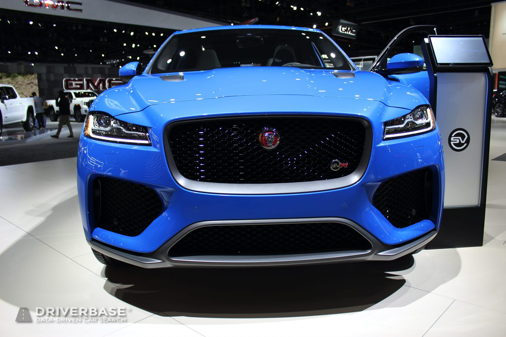 2020 Jaguar F Pace SVR at the 2019 Los Angeles Auto Show