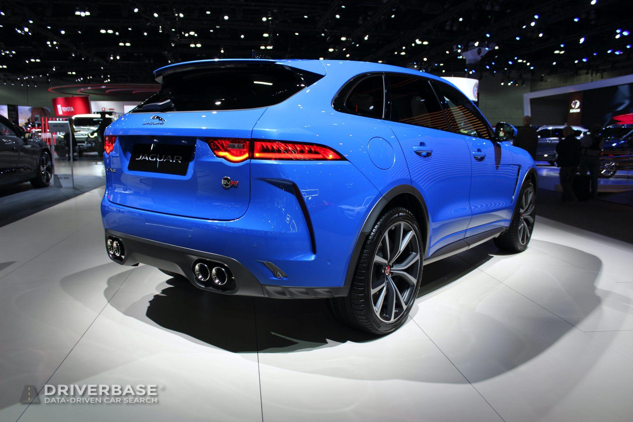 2020 Jaguar F Pace SVR at the 2019 Los Angeles Auto Show
