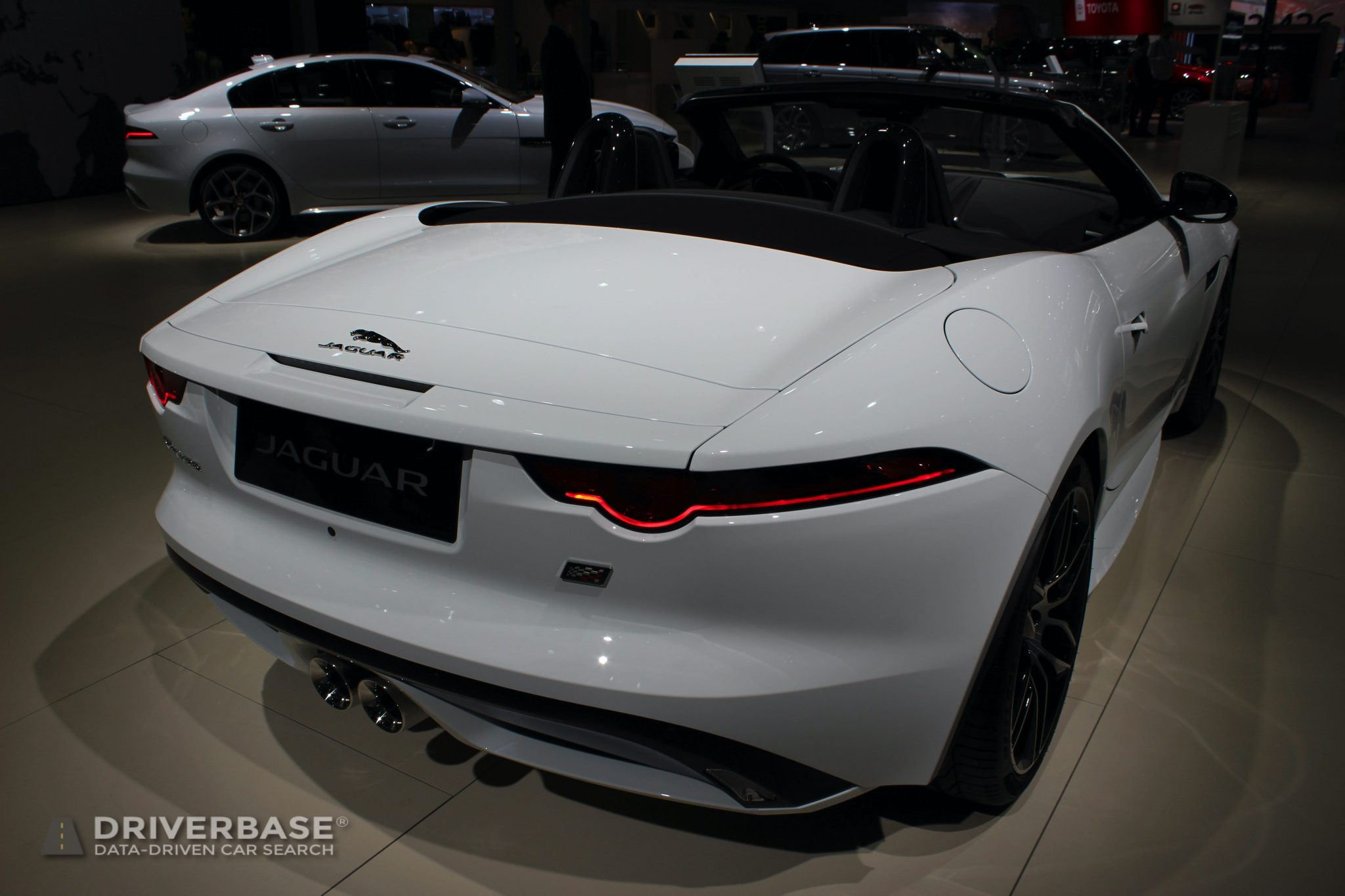 2020 Jaguar F Type at the 2019 Los Angeles Auto Show