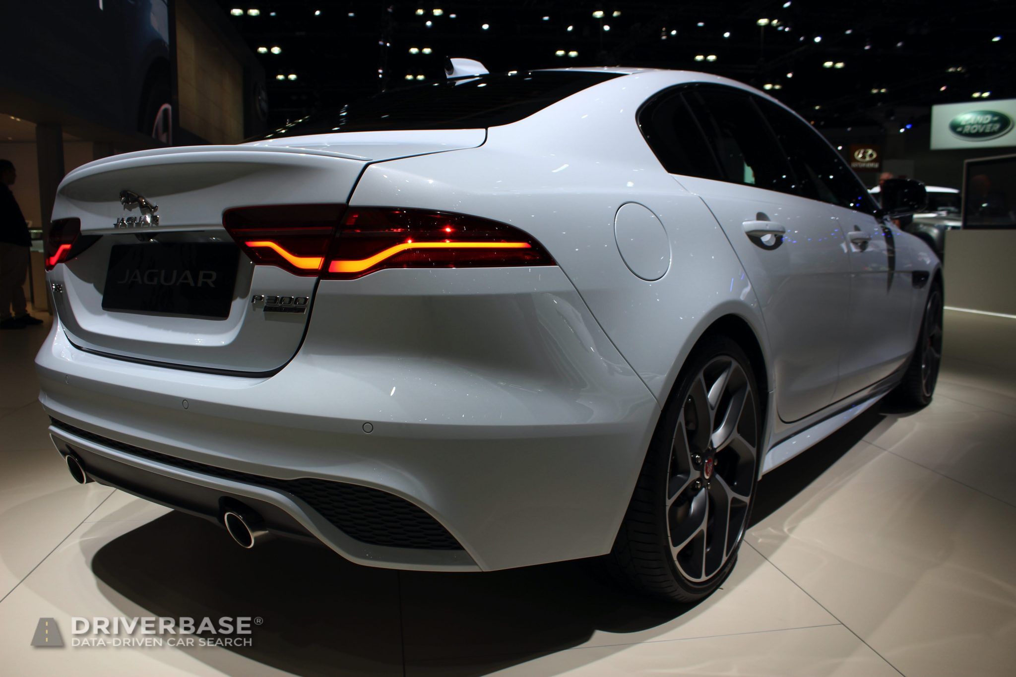 2020 Jaguar XE P300 at the 2019 Los Angeles Auto Show