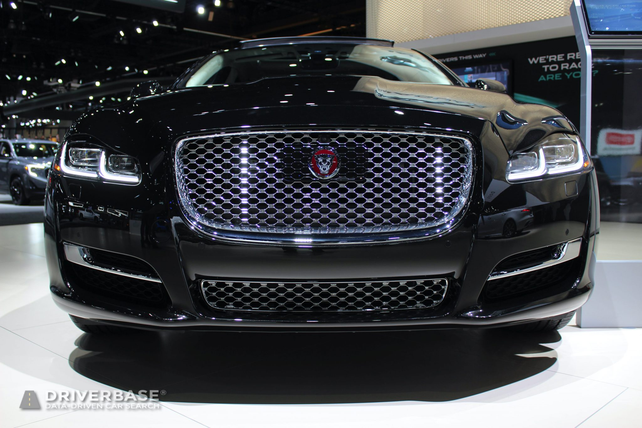2020 Jaguar XJ L at the 2019 Los Angeles Auto Show