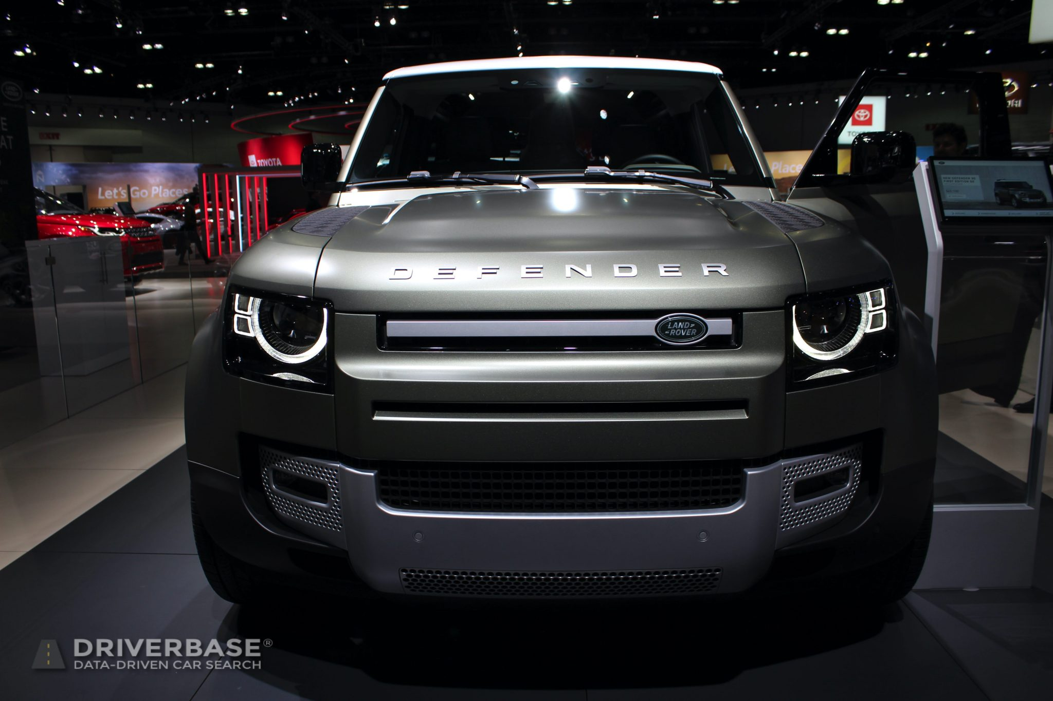 2020 Land Rover Defender 90 First Edition at the 2019 Los Angeles Auto Show