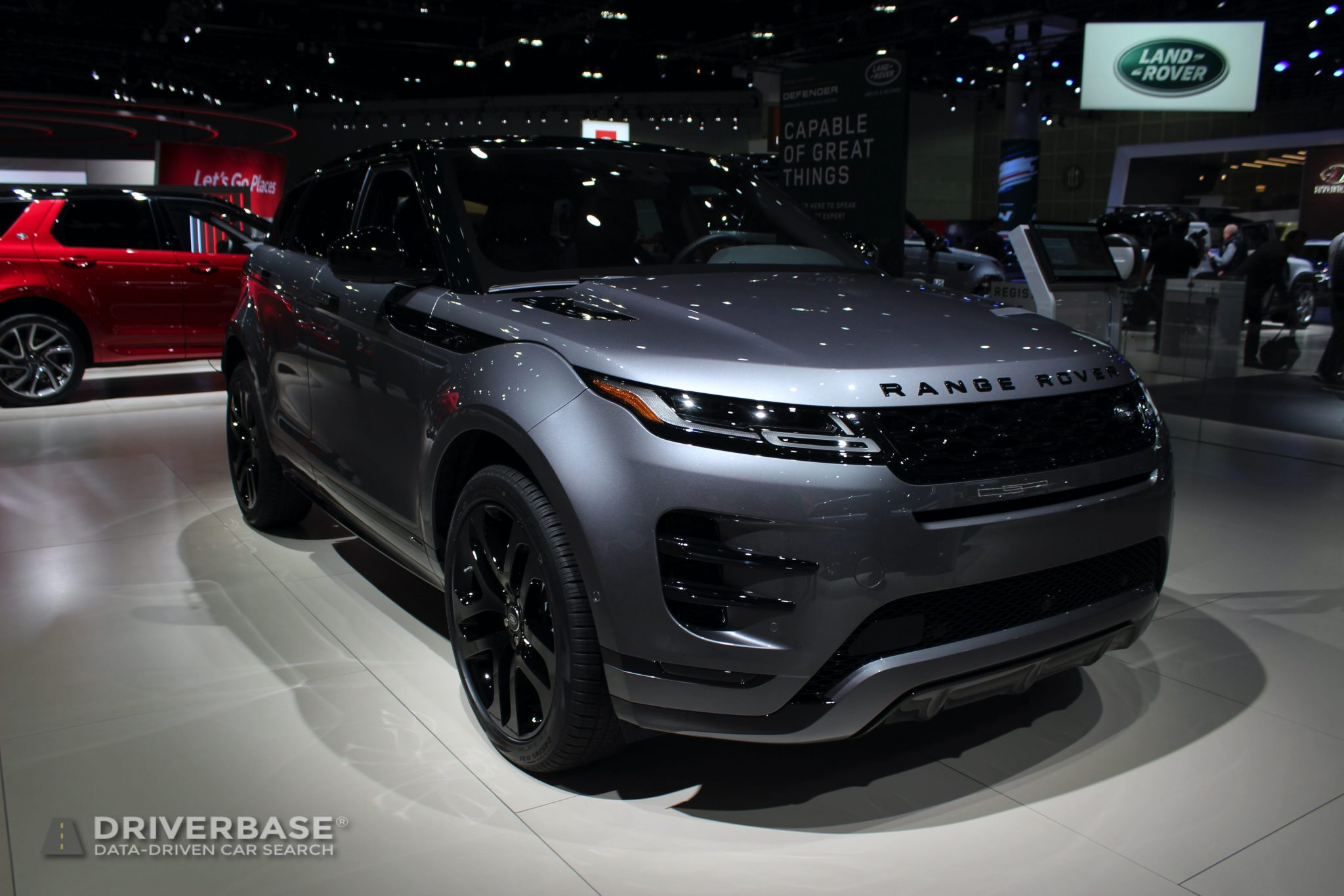 2020 Land Rover Range Rover Evoque at the 2019 Los Angeles Auto Show