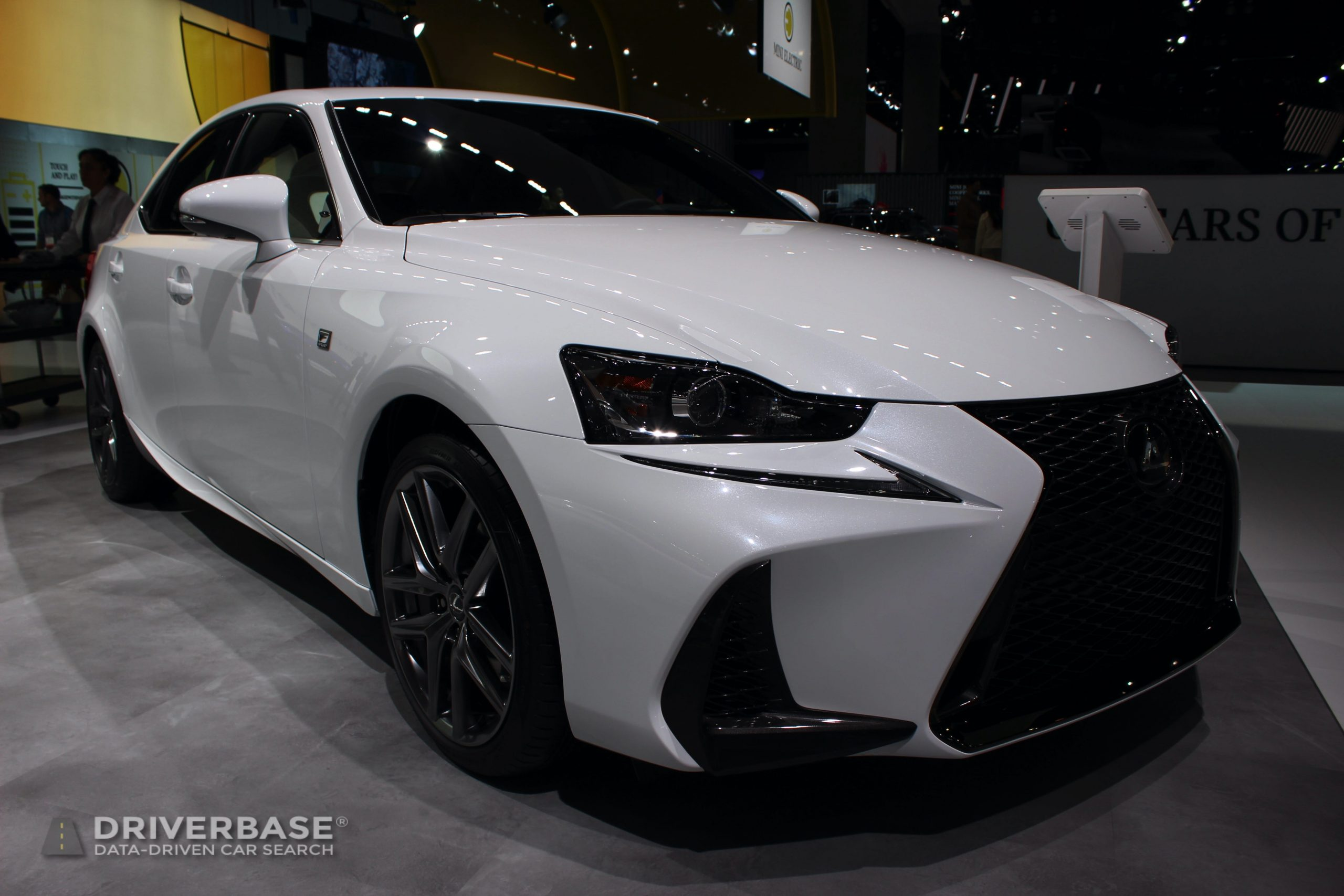 2020 Lexus IS 350 F Sport at the 2019 Los Angeles Auto Show