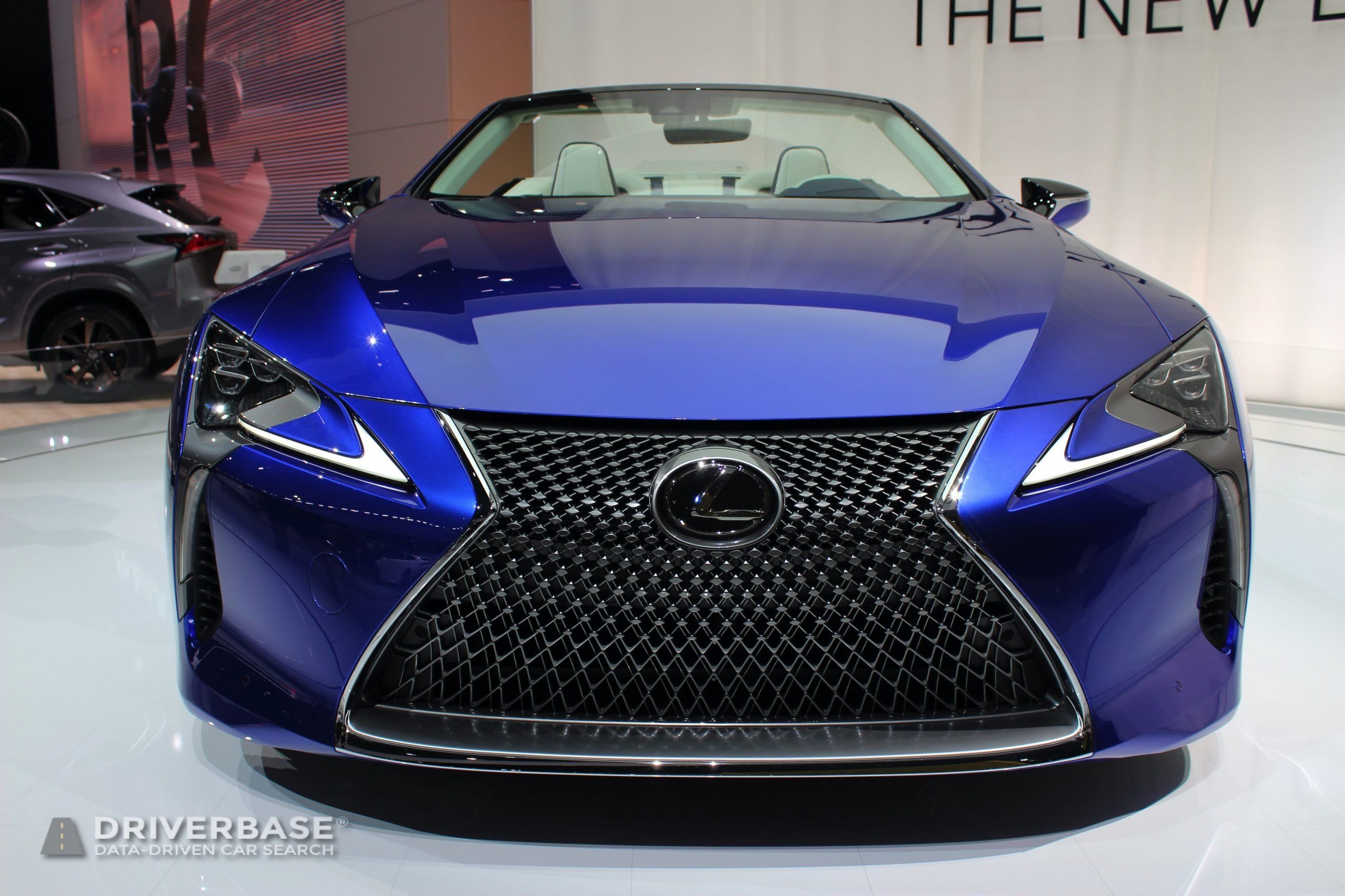 2020 Lexus LC 500 Convertible at the 2019 Los Angeles Auto Show