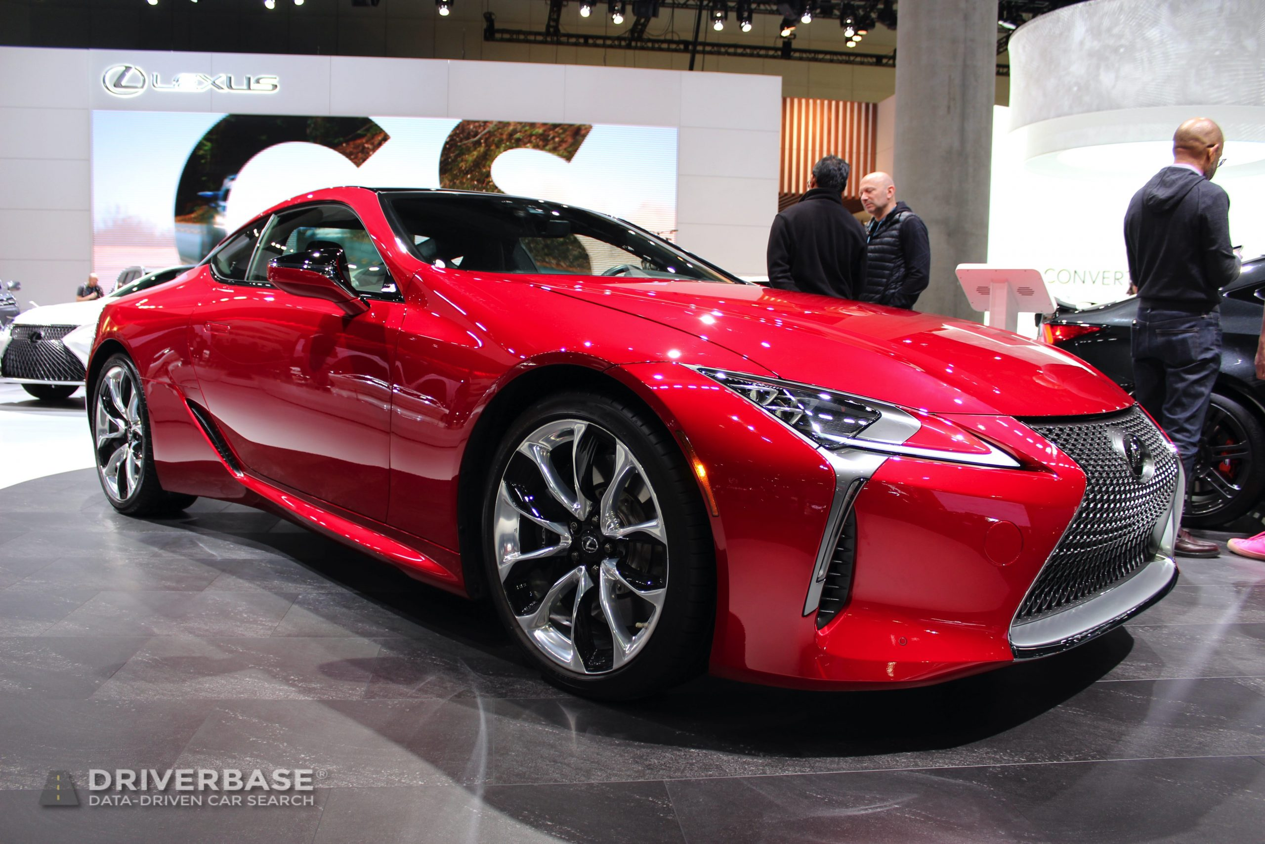 2020 Lexus LC 500 at the 2019 Los Angeles Auto Show