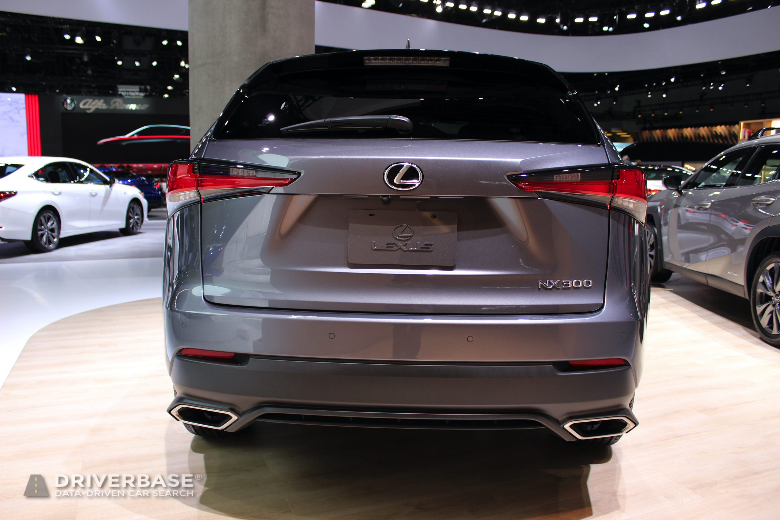 2020 Lexus NX 300 at the 2019 Los Angeles Auto Show