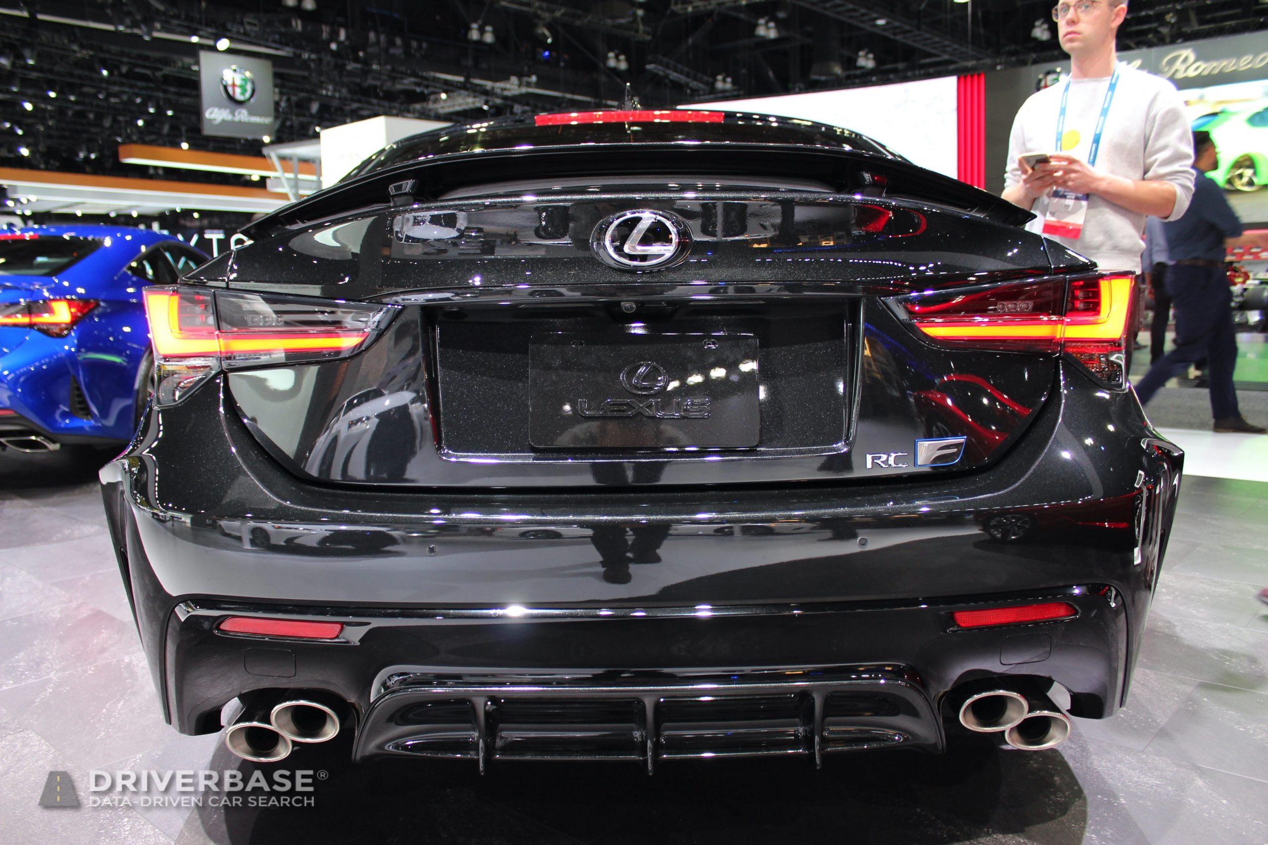 2020 Lexus RC F at the 2019 Los Angeles Auto Show