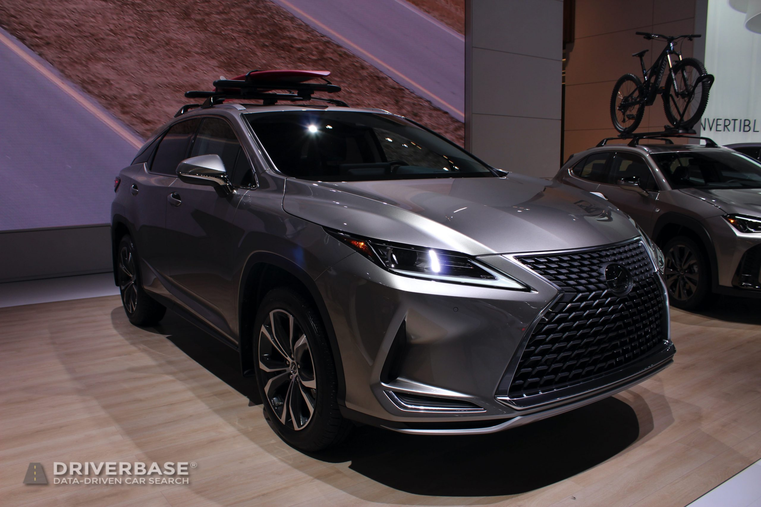 2020 Lexus RX 350 at the 2019 Los Angeles Auto Show