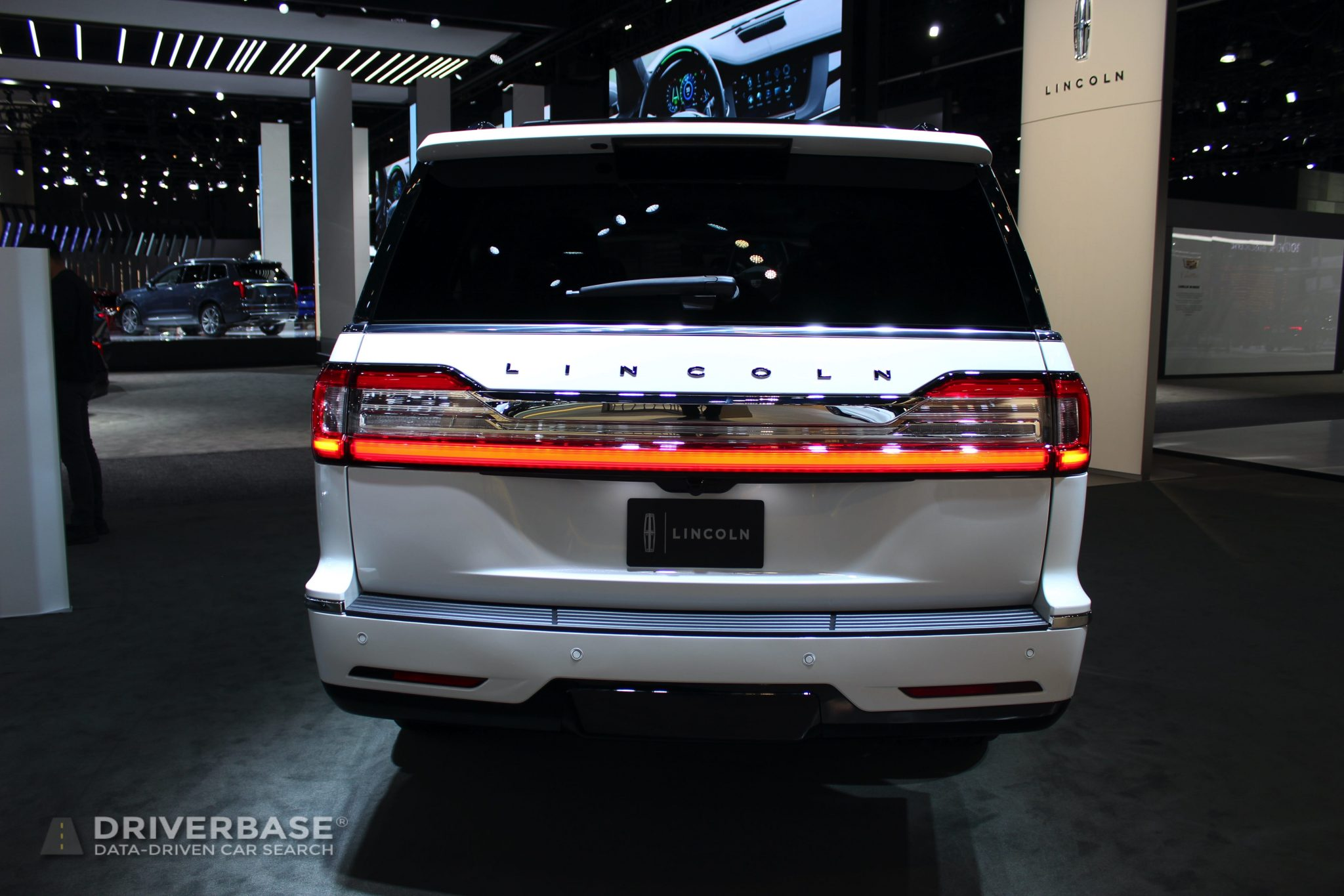 2020 Lincoln Navigator at the 2019 Los Angeles Auto Show