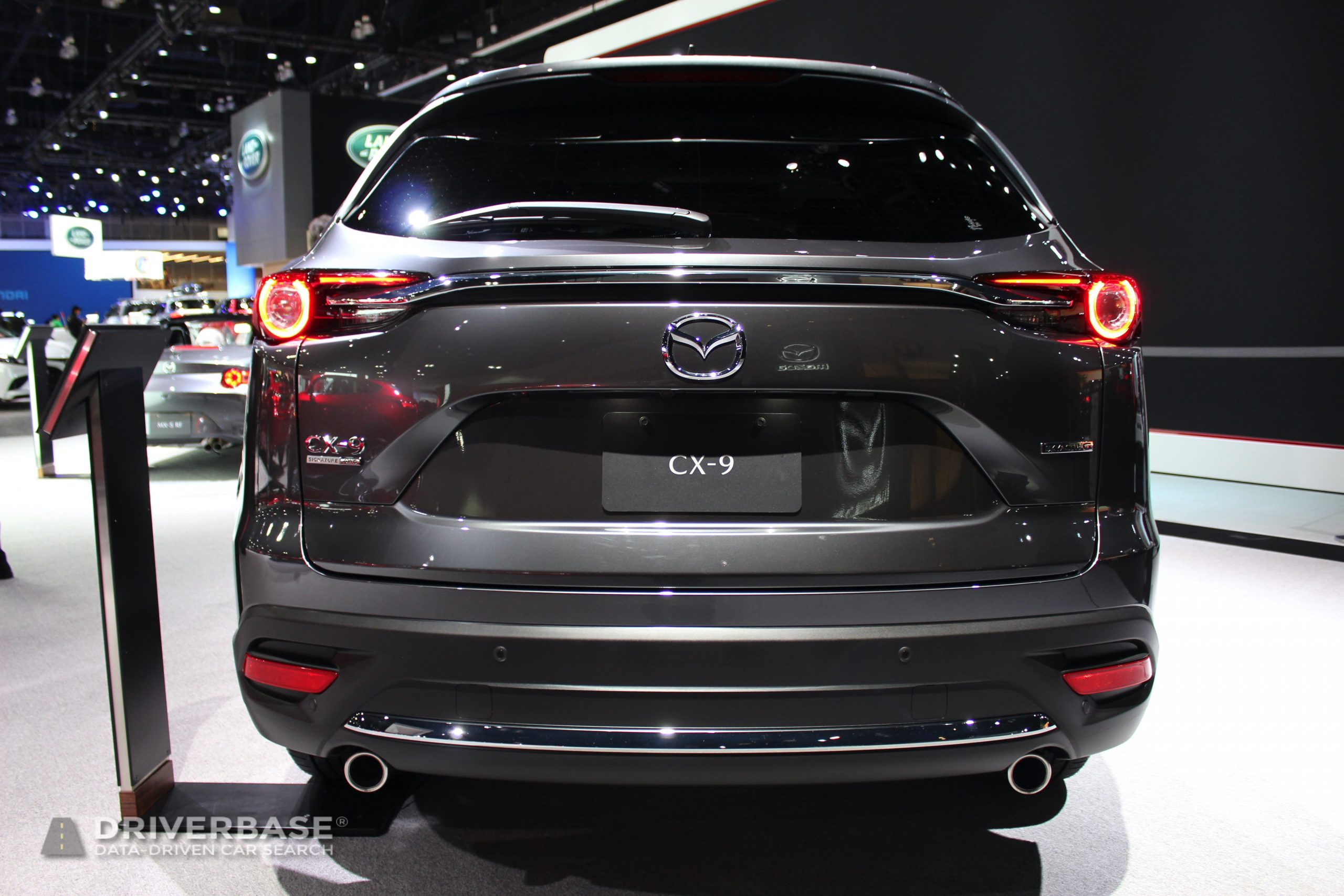 2020 Mazda CX-9 at the 2019 Los Angeles Auto Show