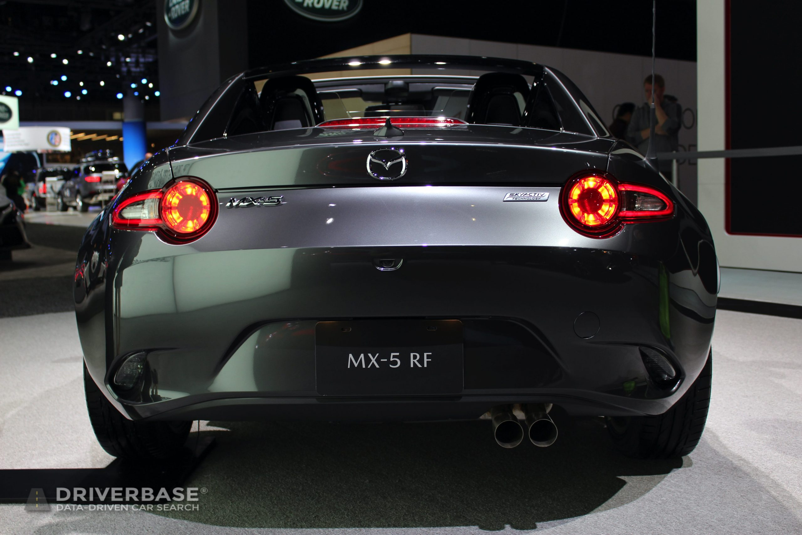2020 Mazda MX-5 RF at the 2019 Los Angeles Auto Show
