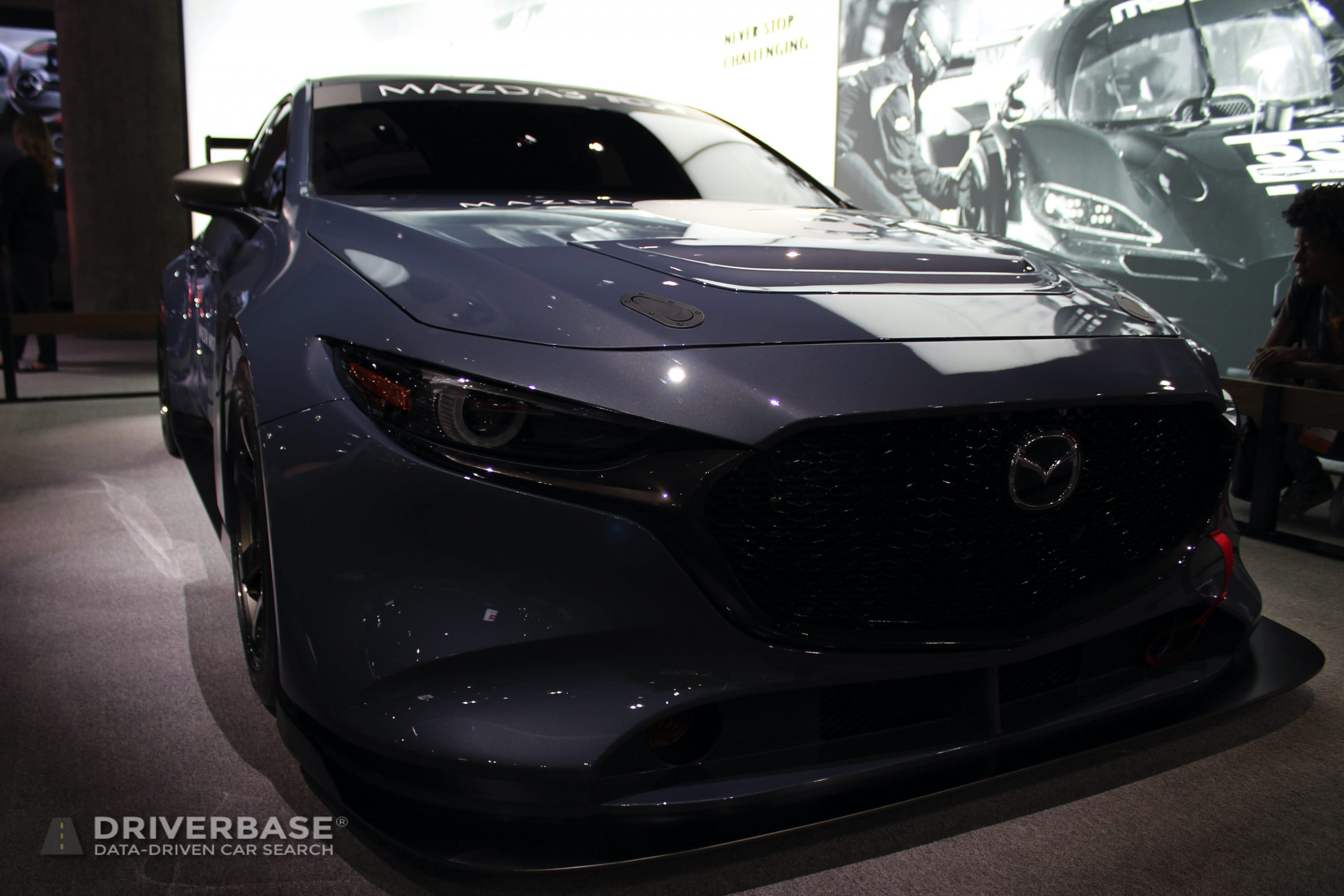 2020 Mazda3 TCR at the 2019 Los Angeles Auto Show