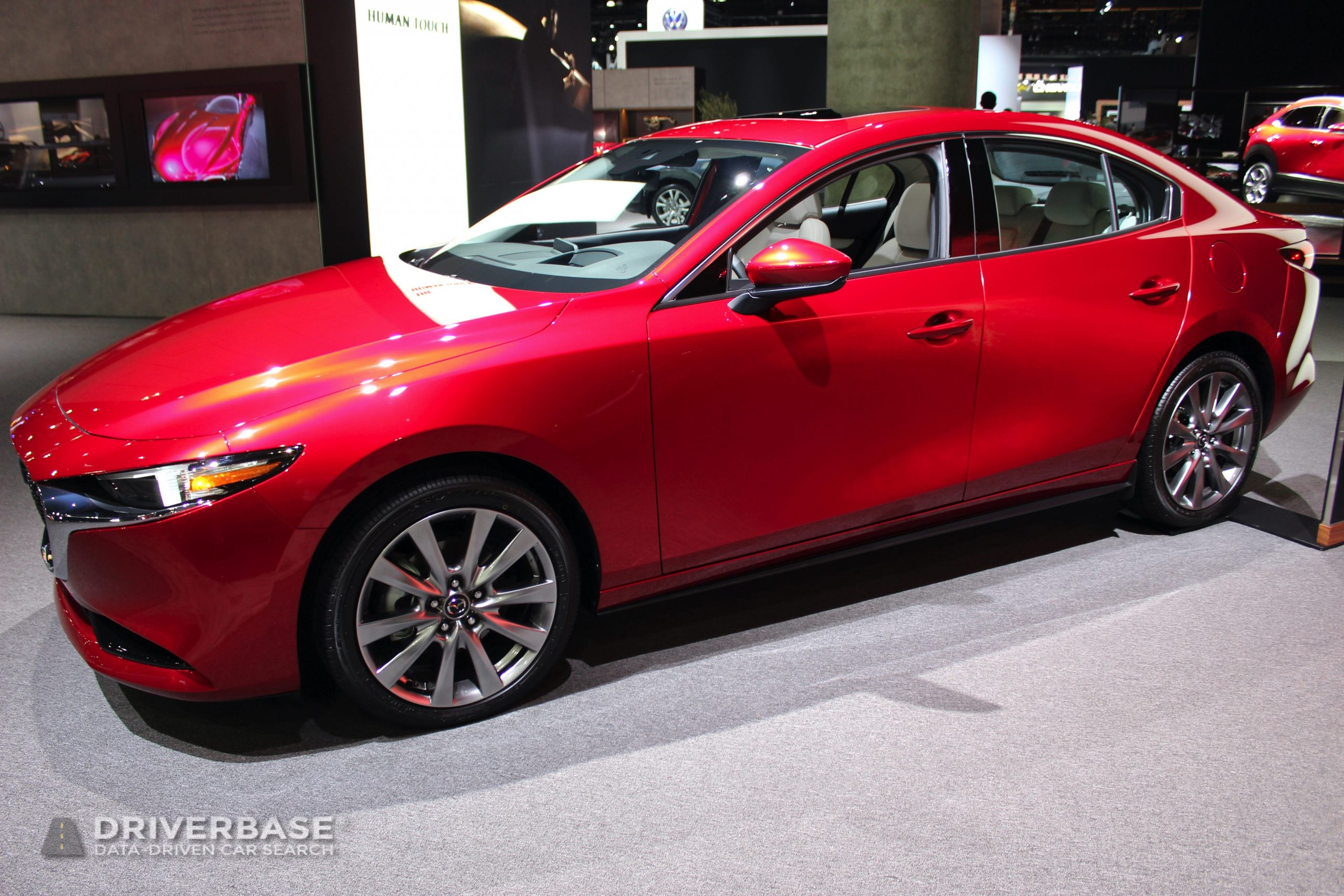 2020 Mazda3 at the 2019 Los Angeles Auto Show