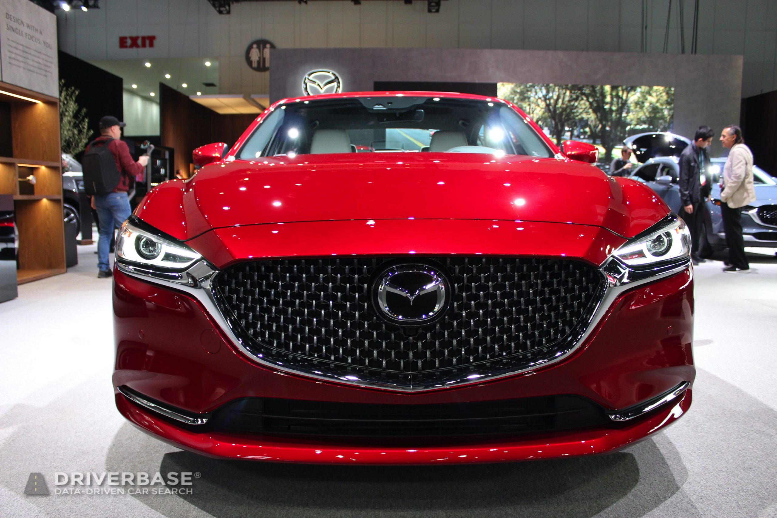 2020 Mazda6 at the 2019 Los Angeles Auto Show