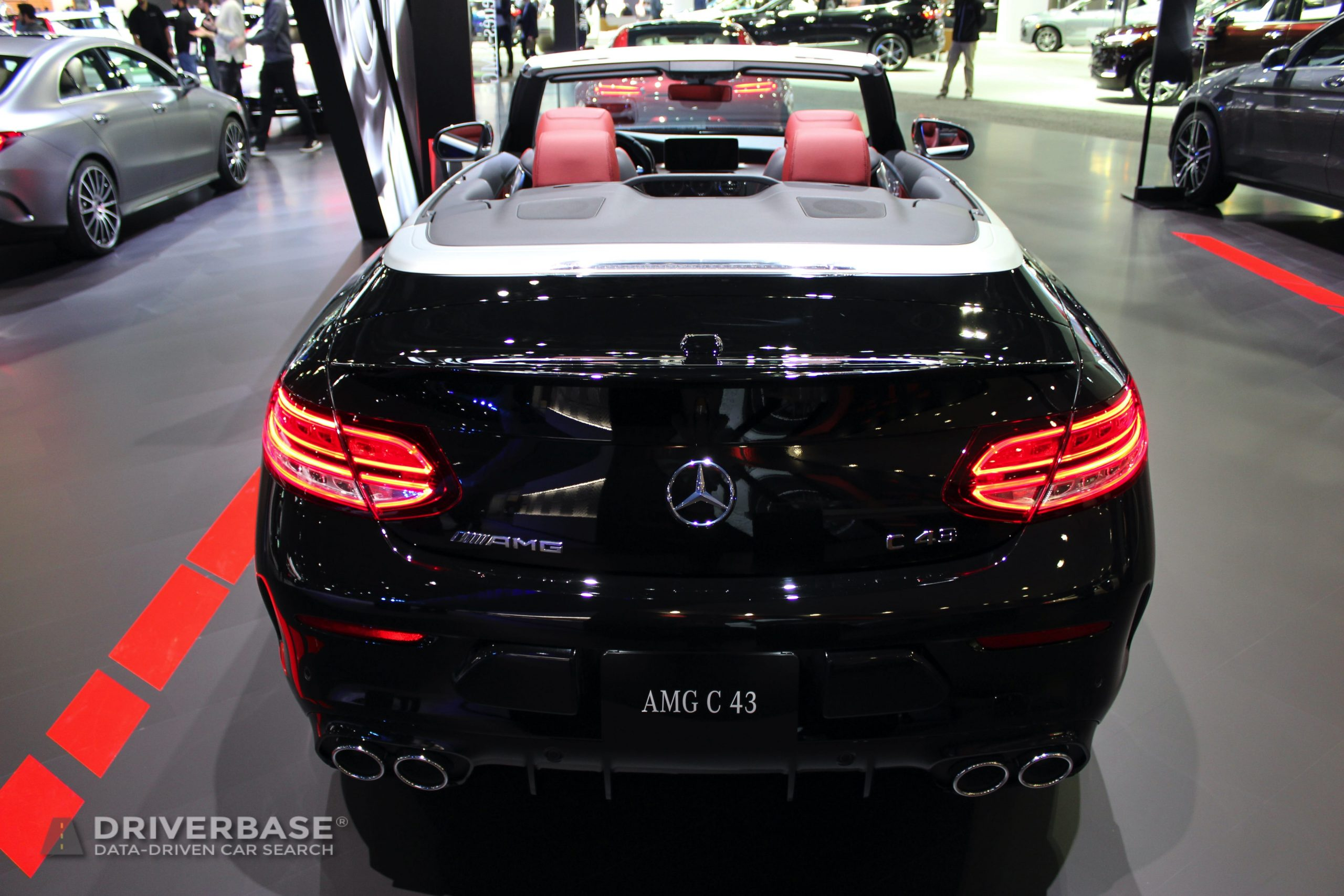 2020 Mercedes-Benz AMG C 43 at the 2019 Los Angeles Auto Show