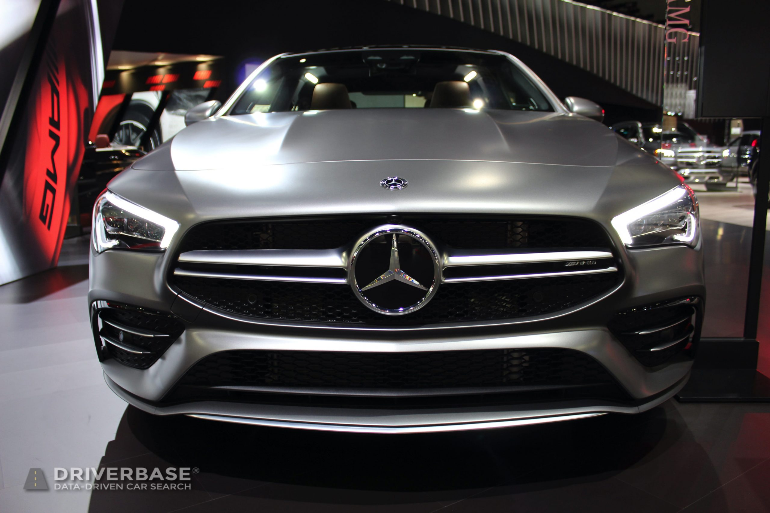 2020 Mercedes-Benz AMG CLA 35 at the 2019 Los Angeles Auto Show