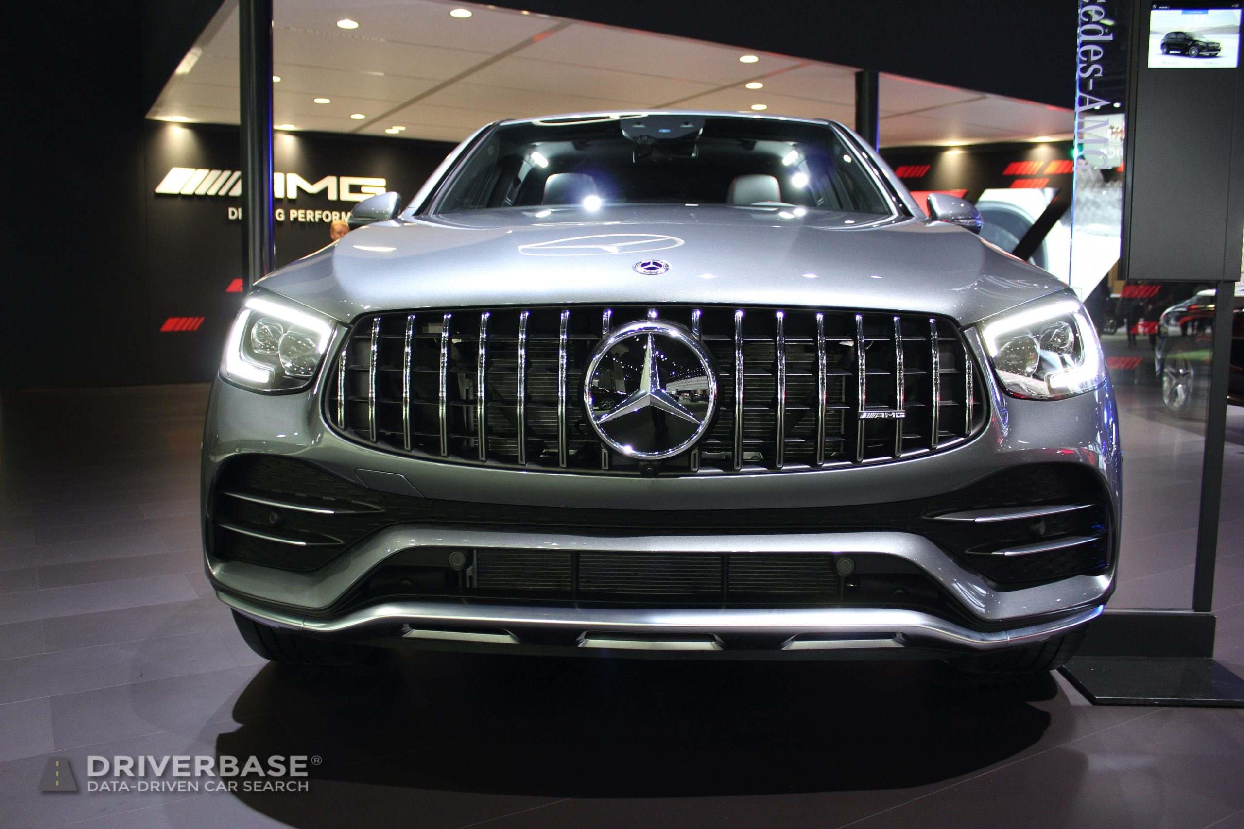 2020 Mercedes-Benz AMG GLC 43 Coupe at the 2019 Los Angeles Auto Show