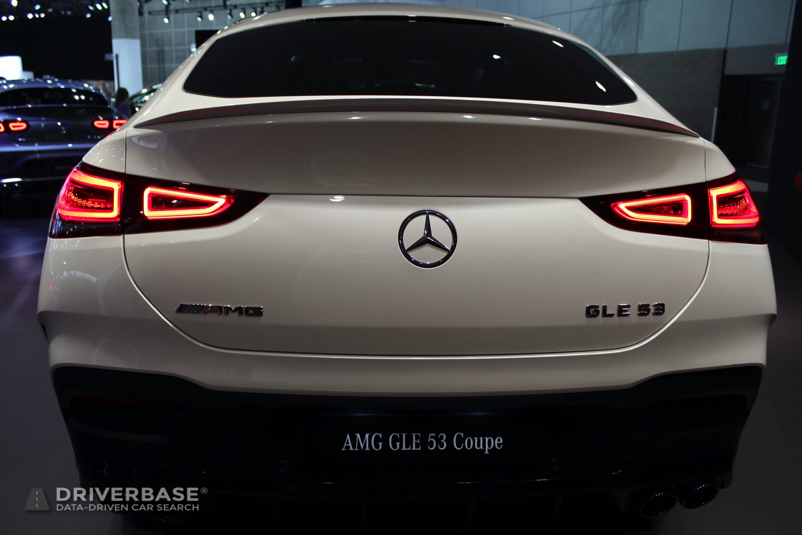2020 Mercedes-Benz AMG GLE 53 Coupe at the 2019 Los Angeles Auto Show