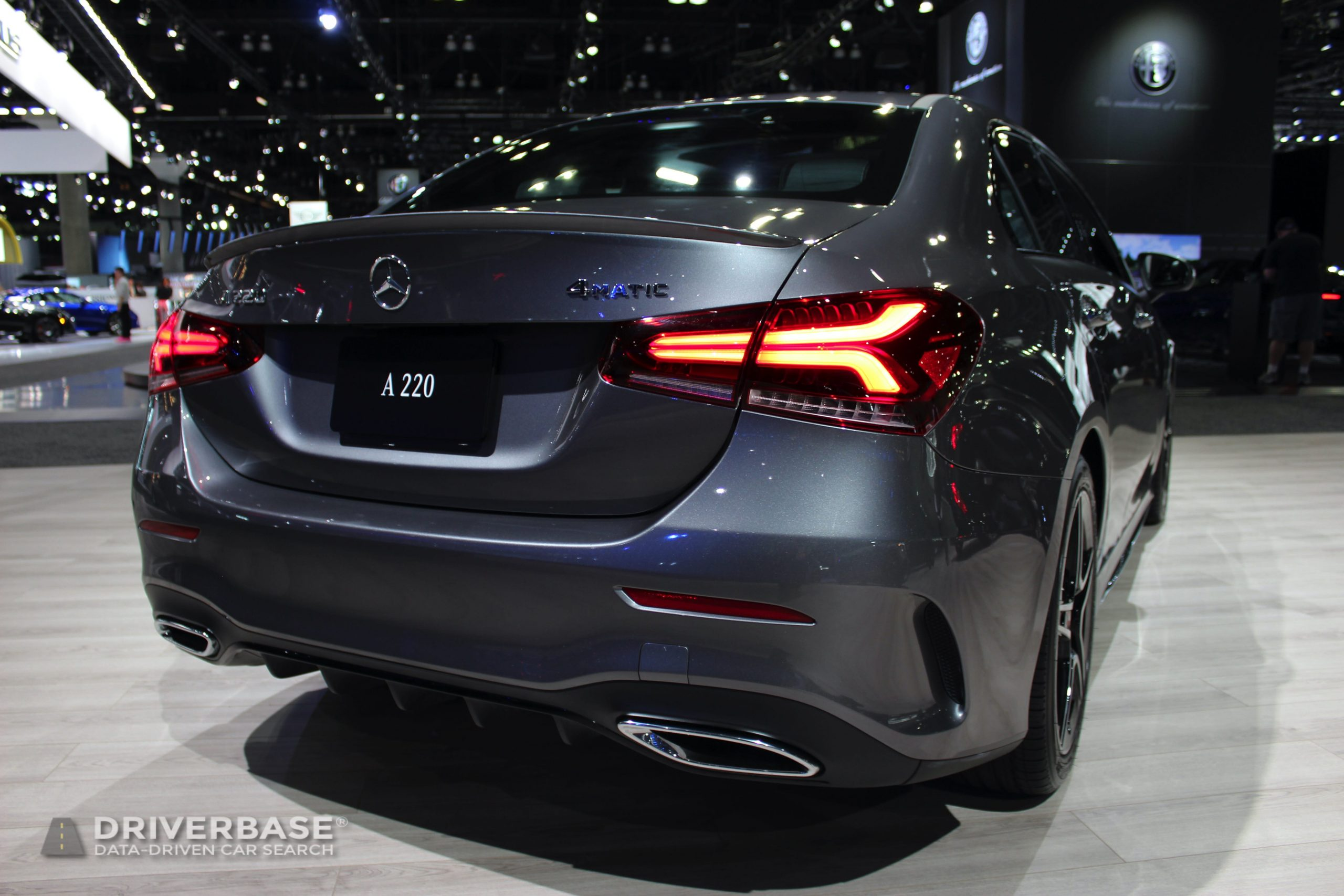 2020 Mercedes-Benz A 220 at the 2019 Los Angeles Auto Show
