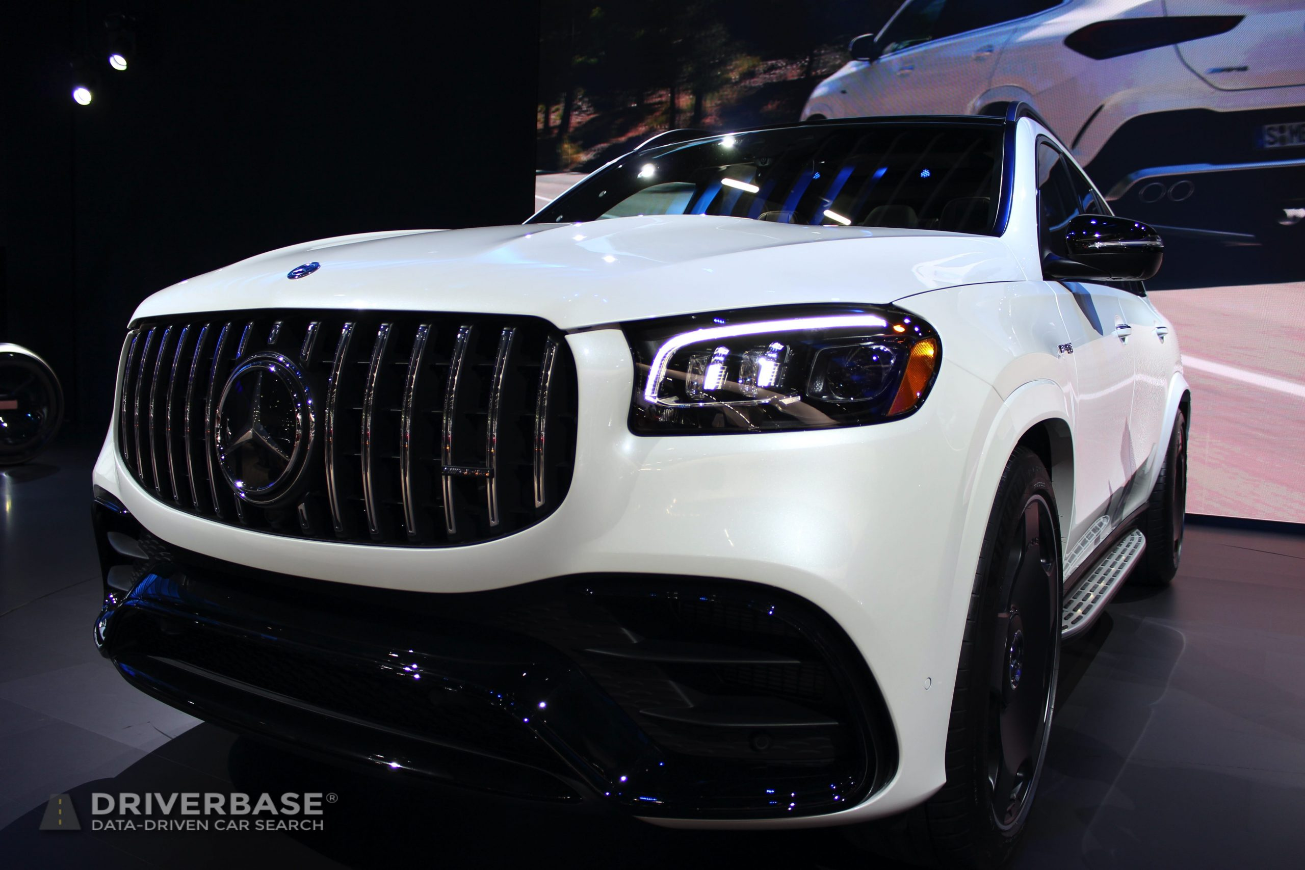 2020 Mercedes-Benz AMG GLS 63 at the 2019 Los Angeles Auto Show