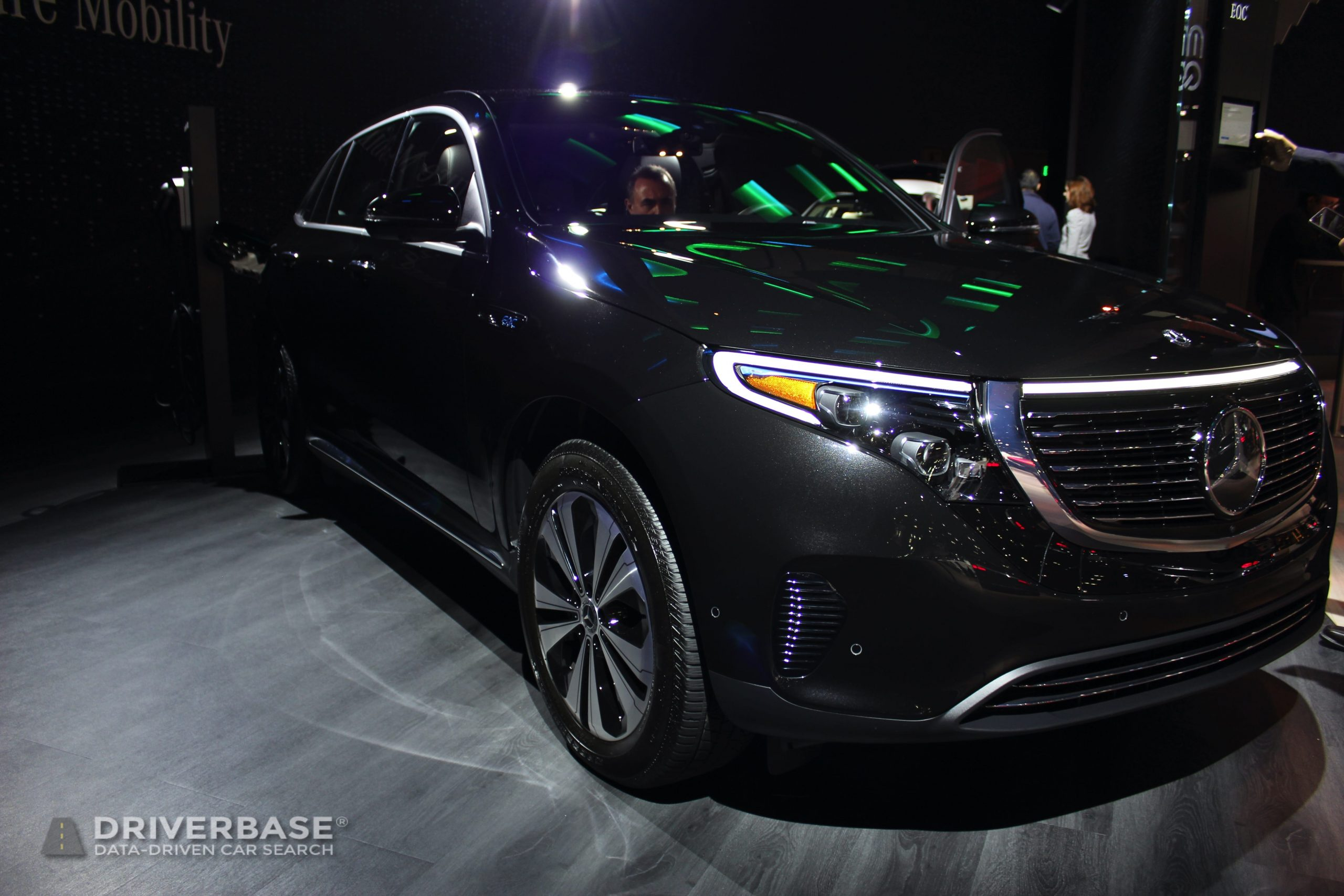 2020 Mercedes-Benz EQC 400 at the 2019 Los Angeles Auto Show