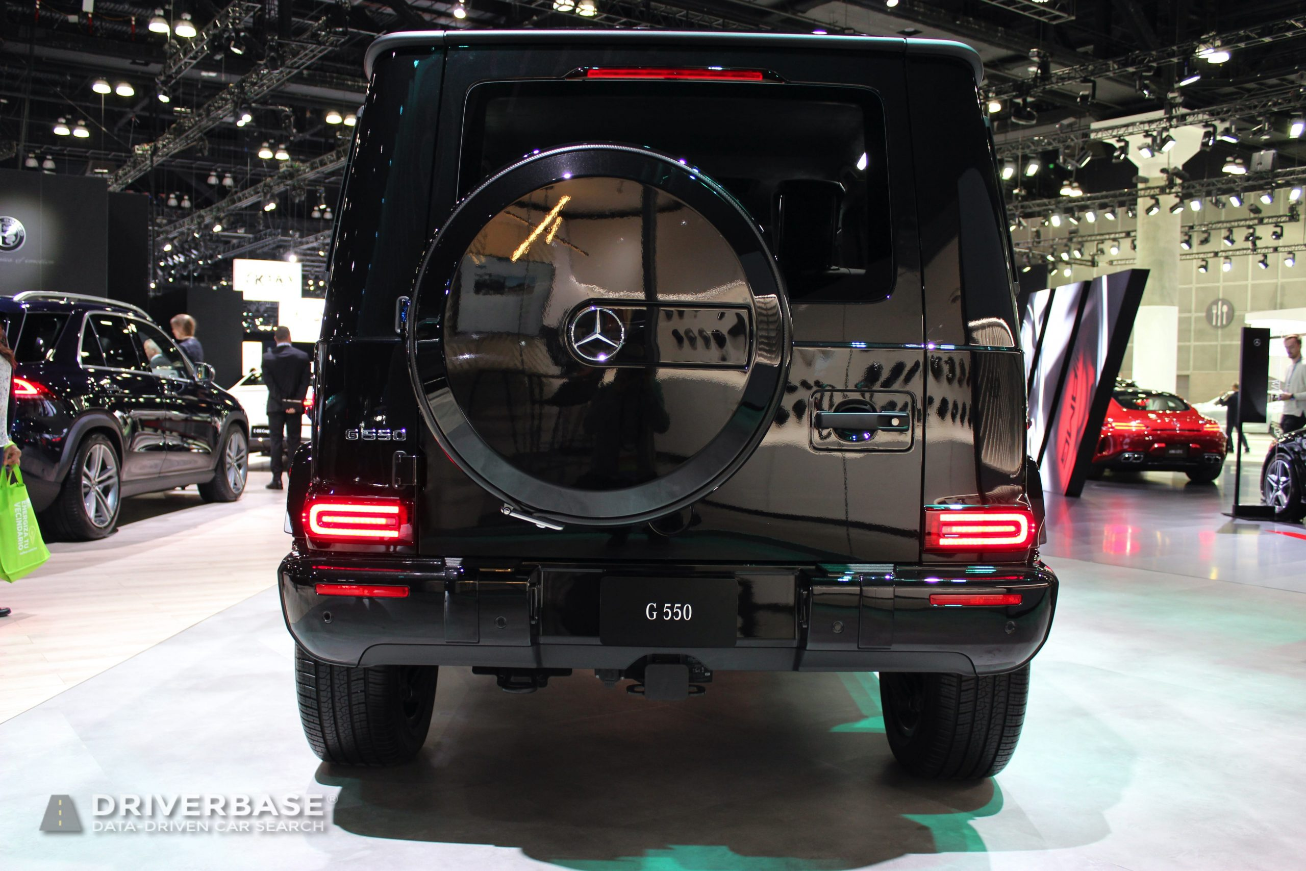 2020 Mercedes-Benz G 550 at the 2019 Los Angeles Auto Show
