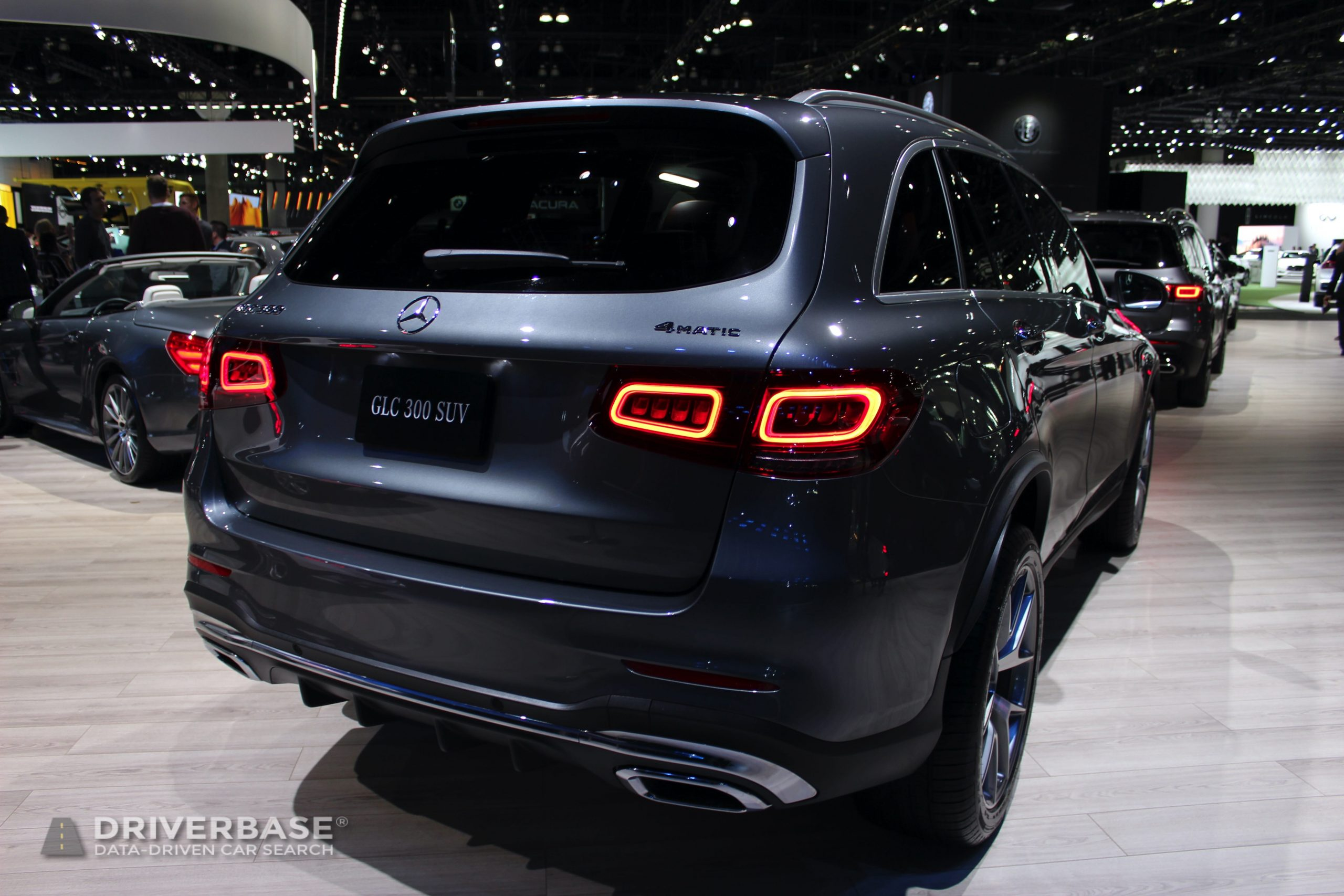 2020 Mercedes-Benz GLC 300 at the 2019 Los Angeles Auto Show