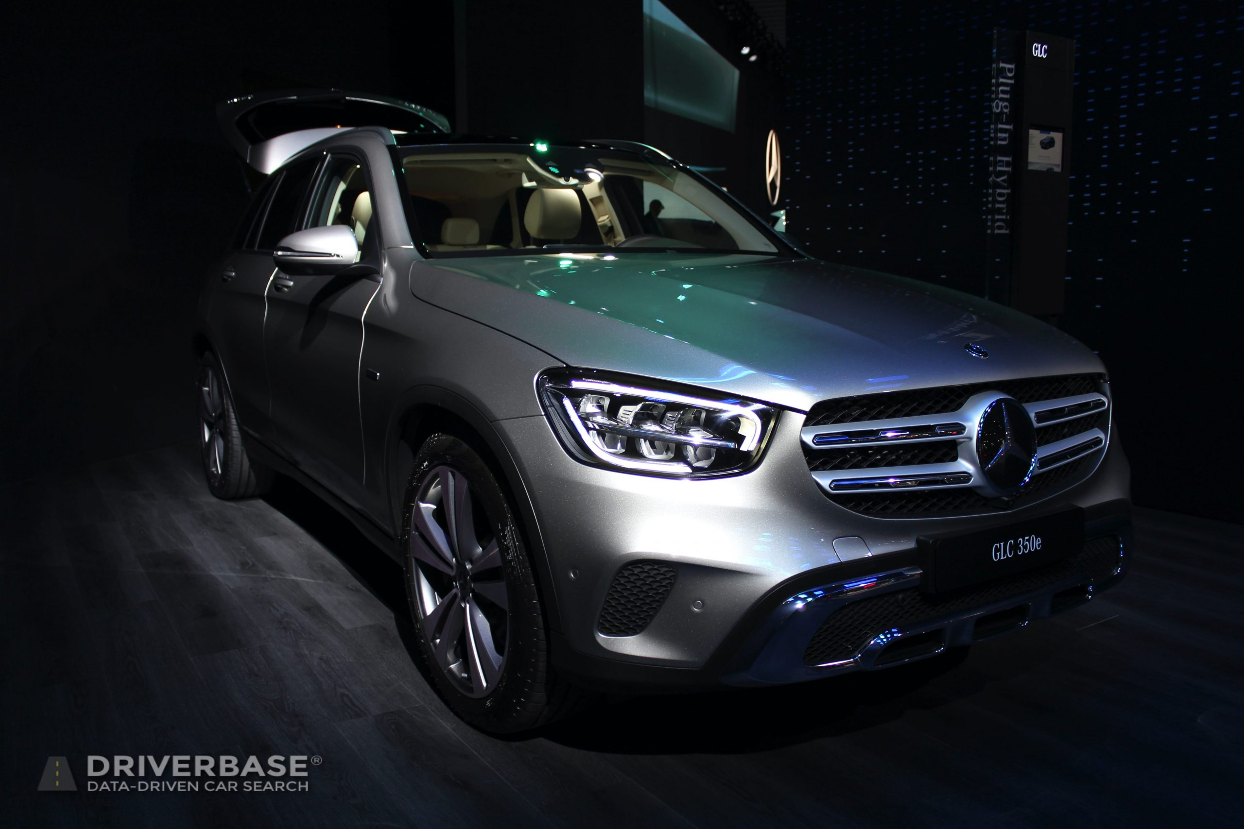 2020 Mercedes-Benz GLC 350e at the 2019 Los Angeles Auto Show