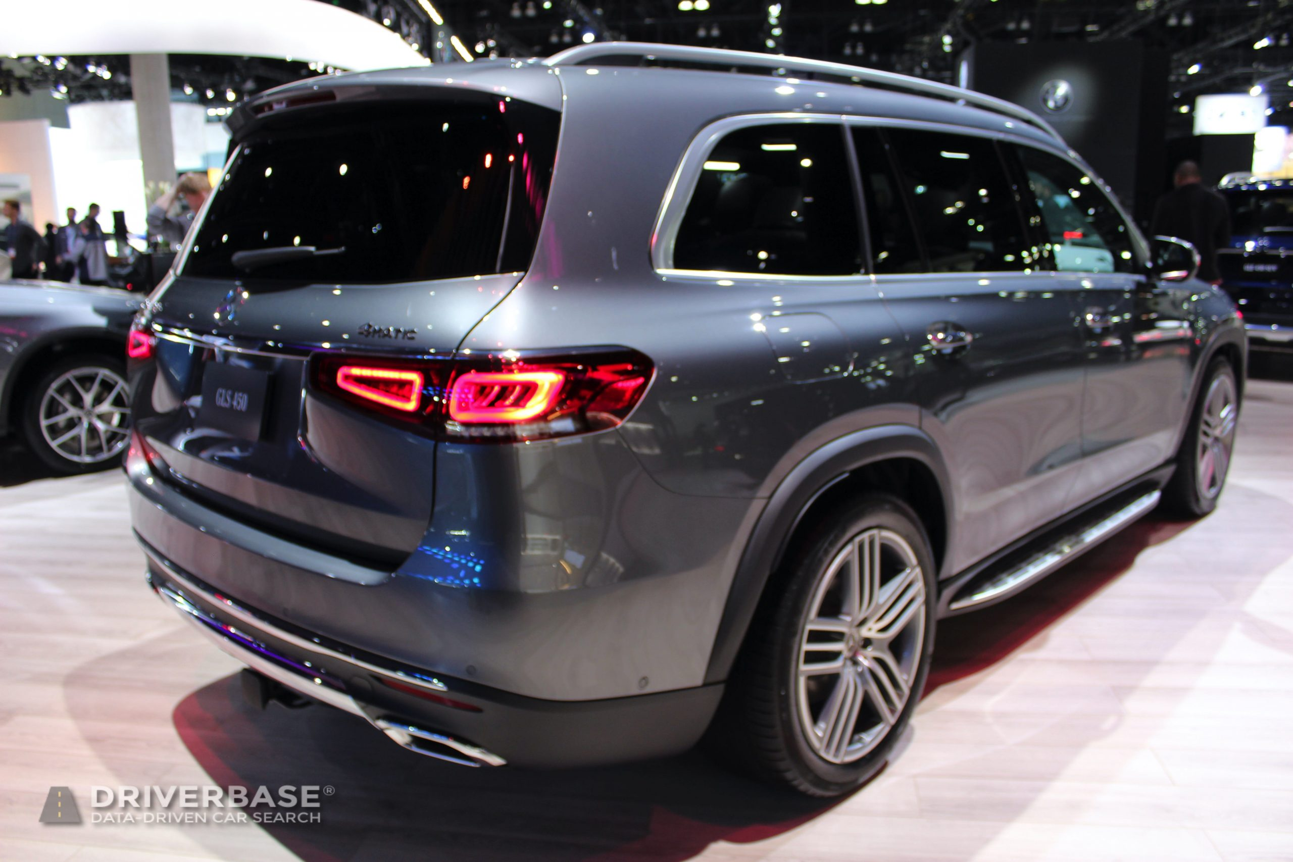 2020 Mercedes-Benz GLS 450 at the 2019 Los Angeles Auto Show