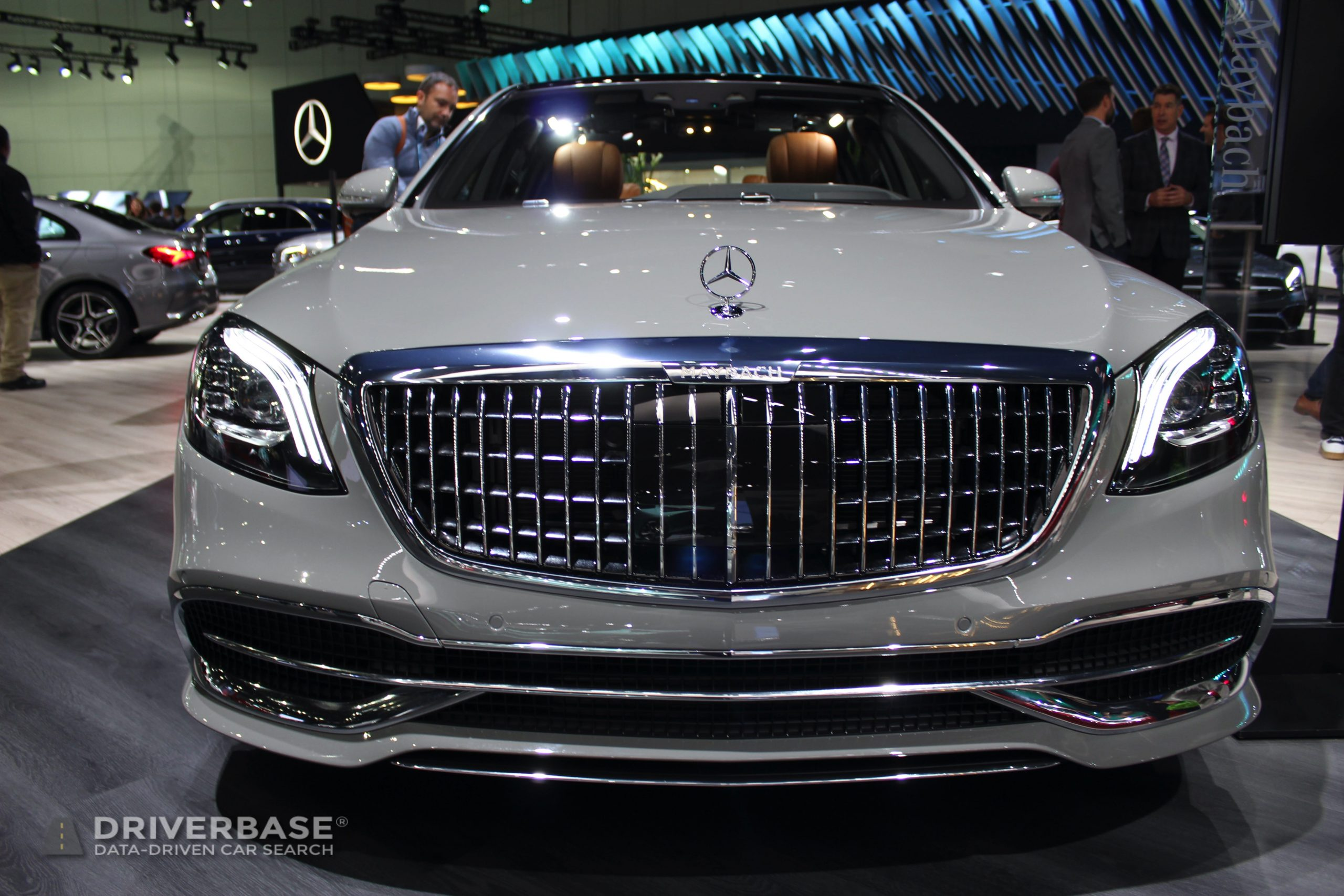 2020 Mercedes-Benz Maybach S650 at the 2019 Los Angeles Auto Show