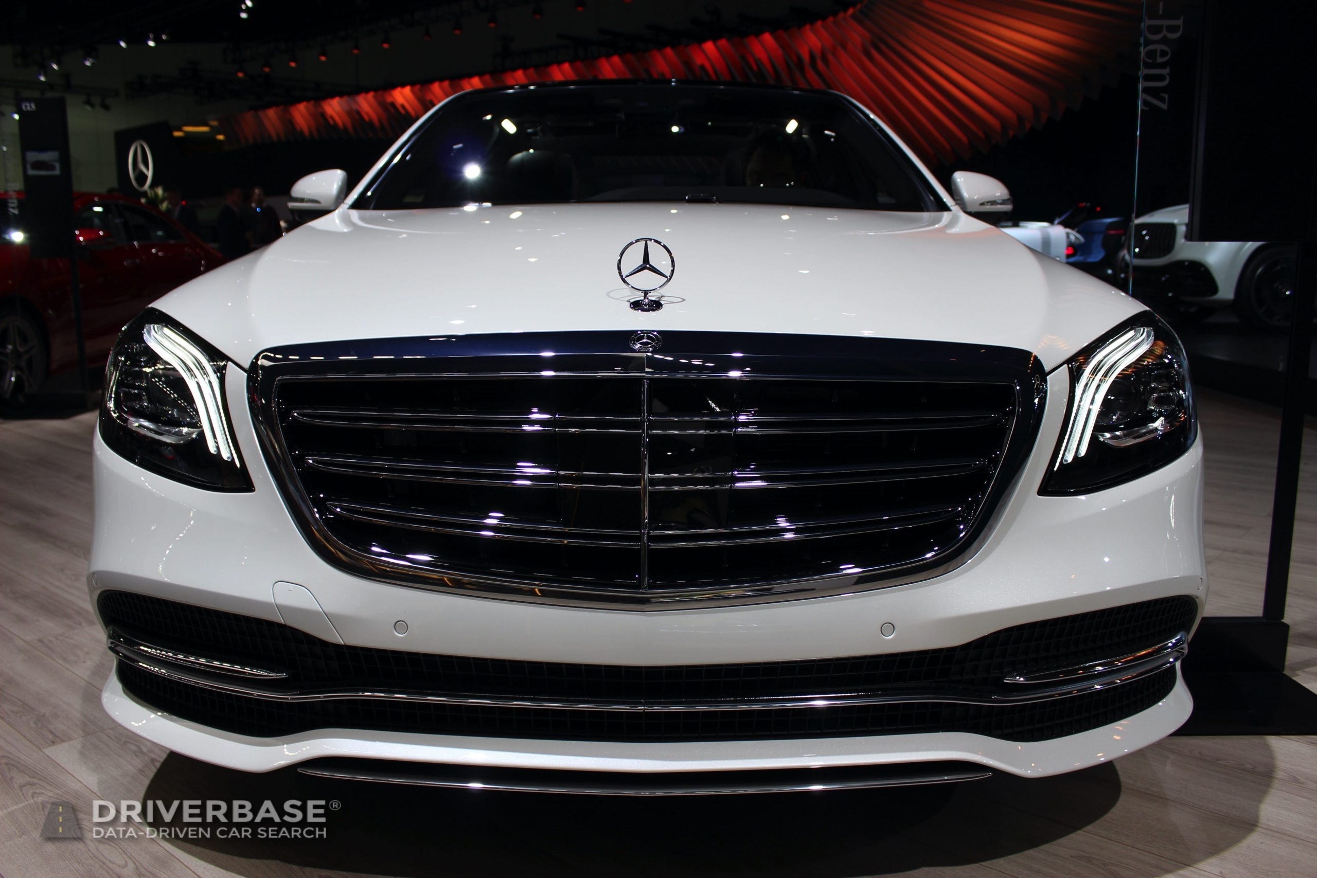 2020 Mercedes-Benz S 560 at the 2019 Los Angeles Auto Show