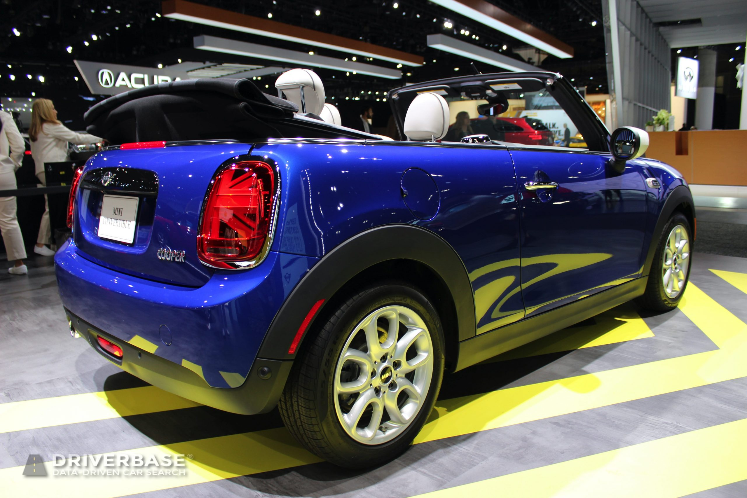 2020 Mini Cooper Convertible at the 2019 Los Angeles Auto Show