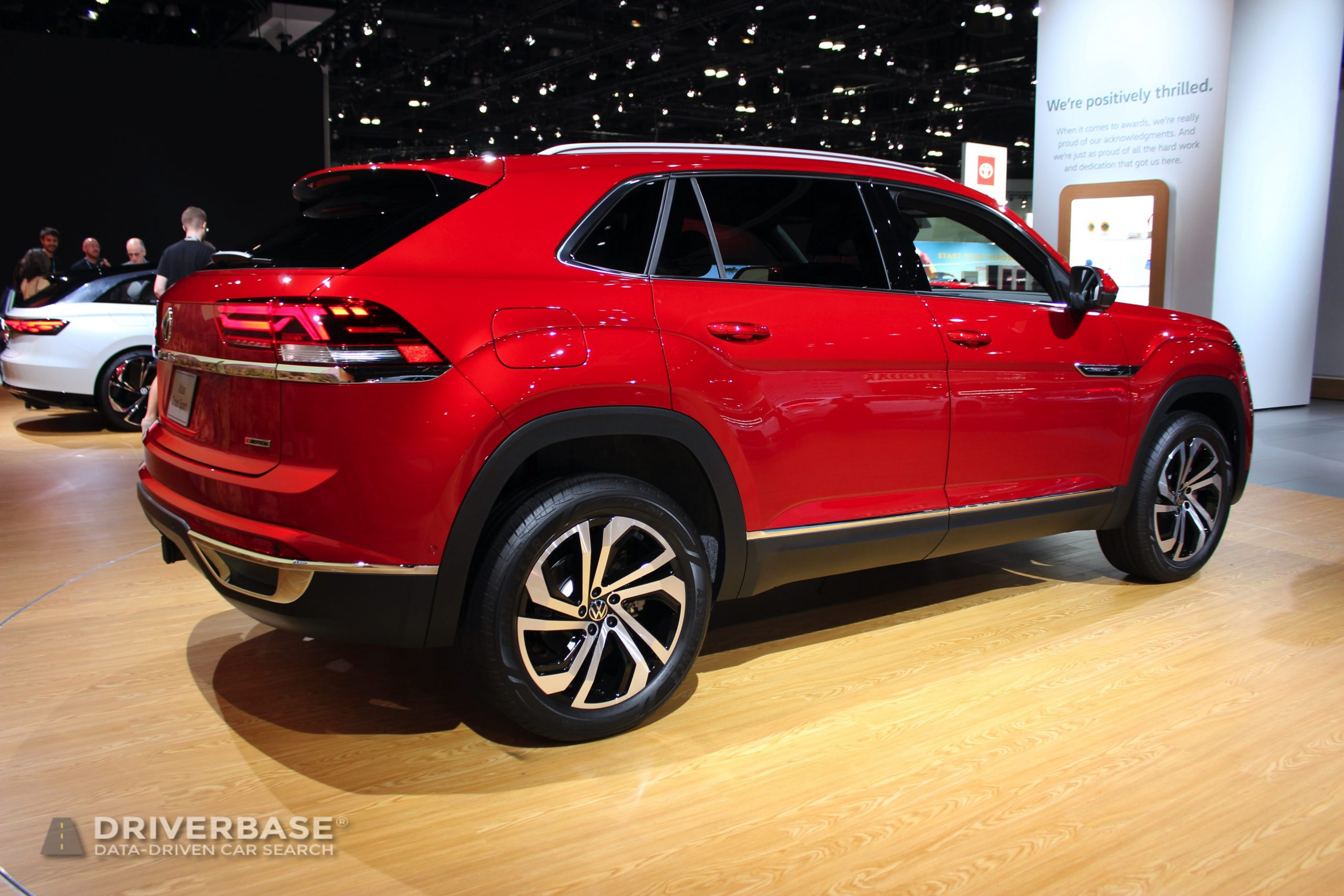 2020 Volkswagen Atlas Cross Sport SUV at the 2019 Los Angeles Auto Show