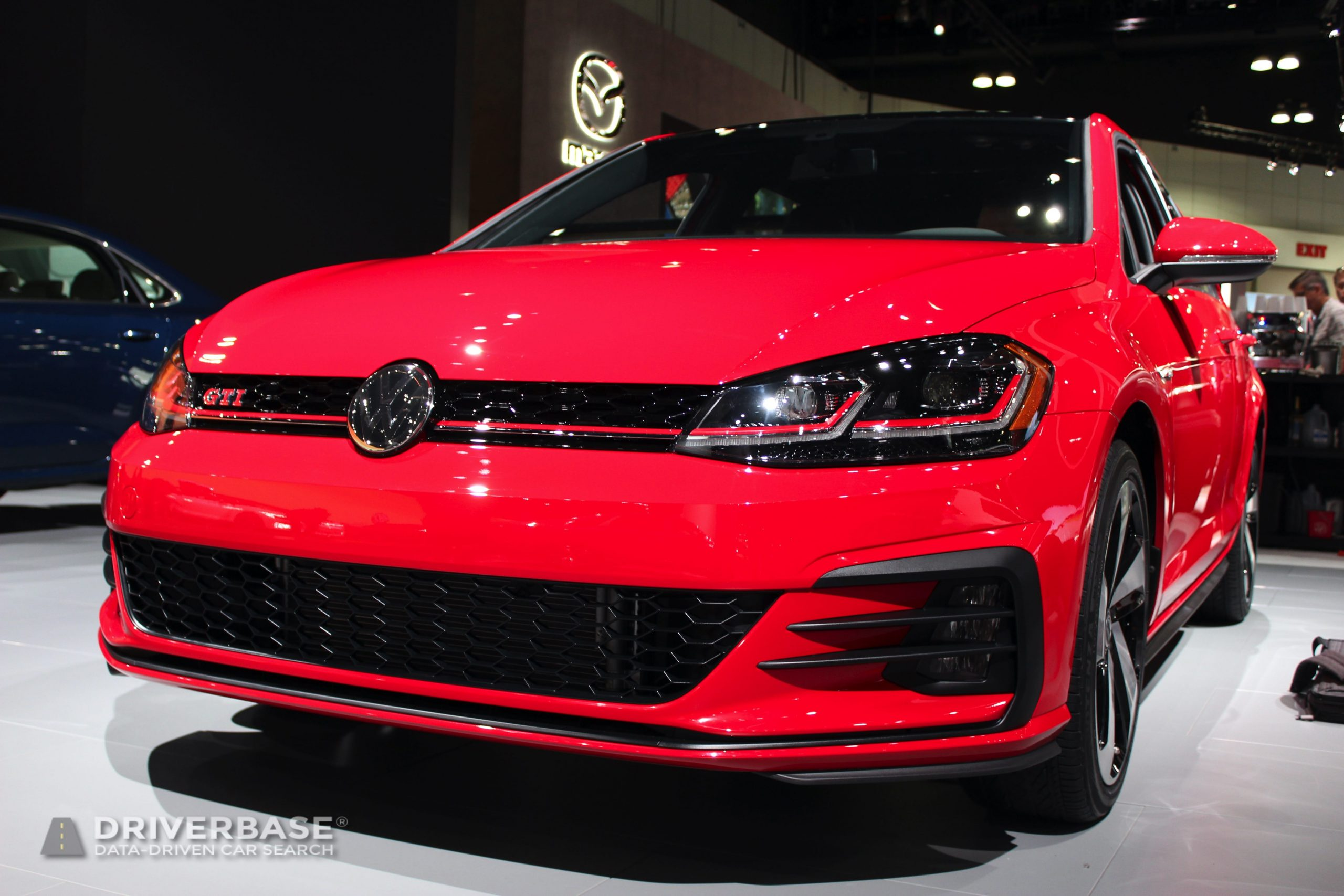 2020 Volkswagen Golf GTI Autobahn at the 2019 Los Angeles Auto Show