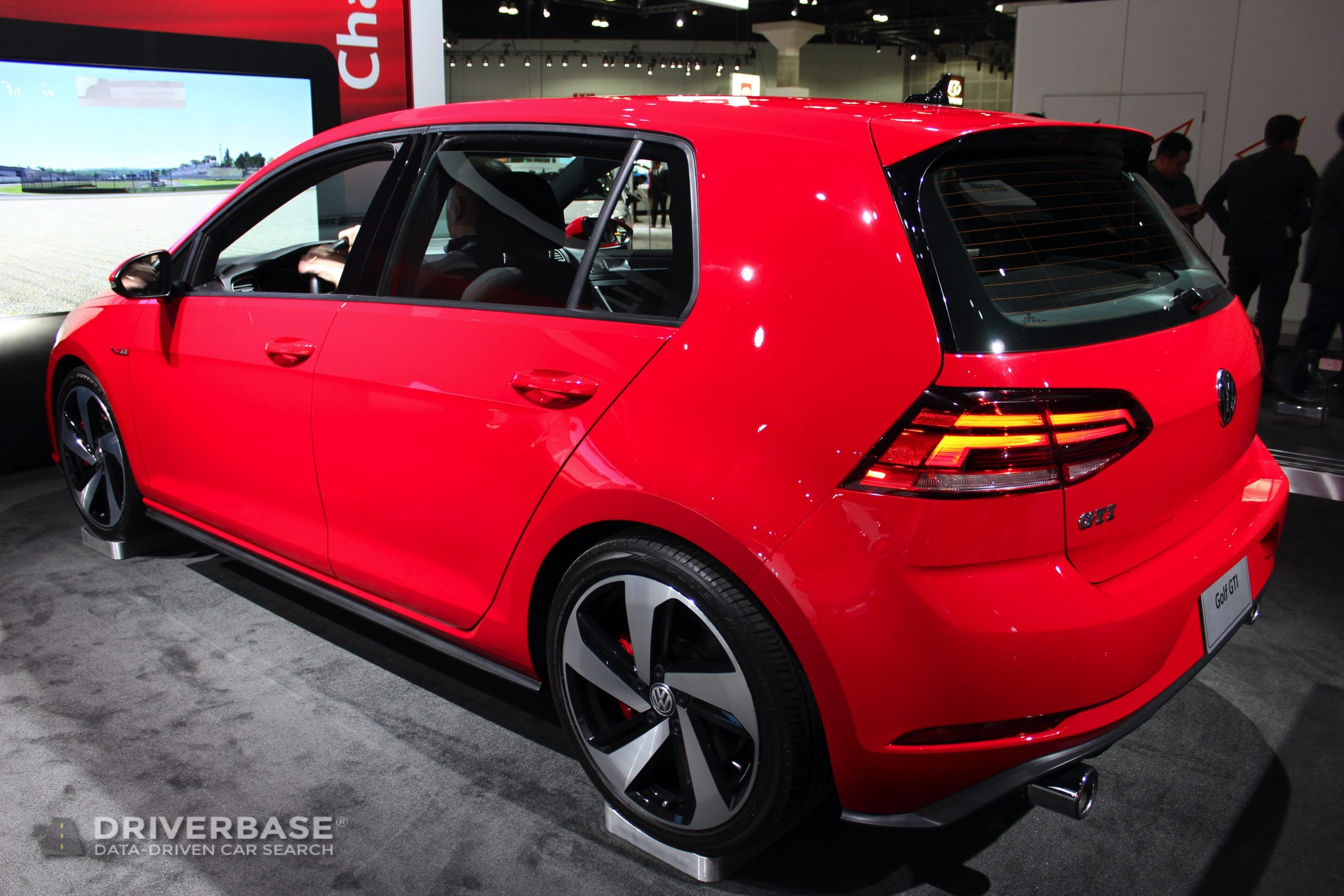 2020 Volkswagen Golf GTI at the 2019 Los Angeles Auto Show
