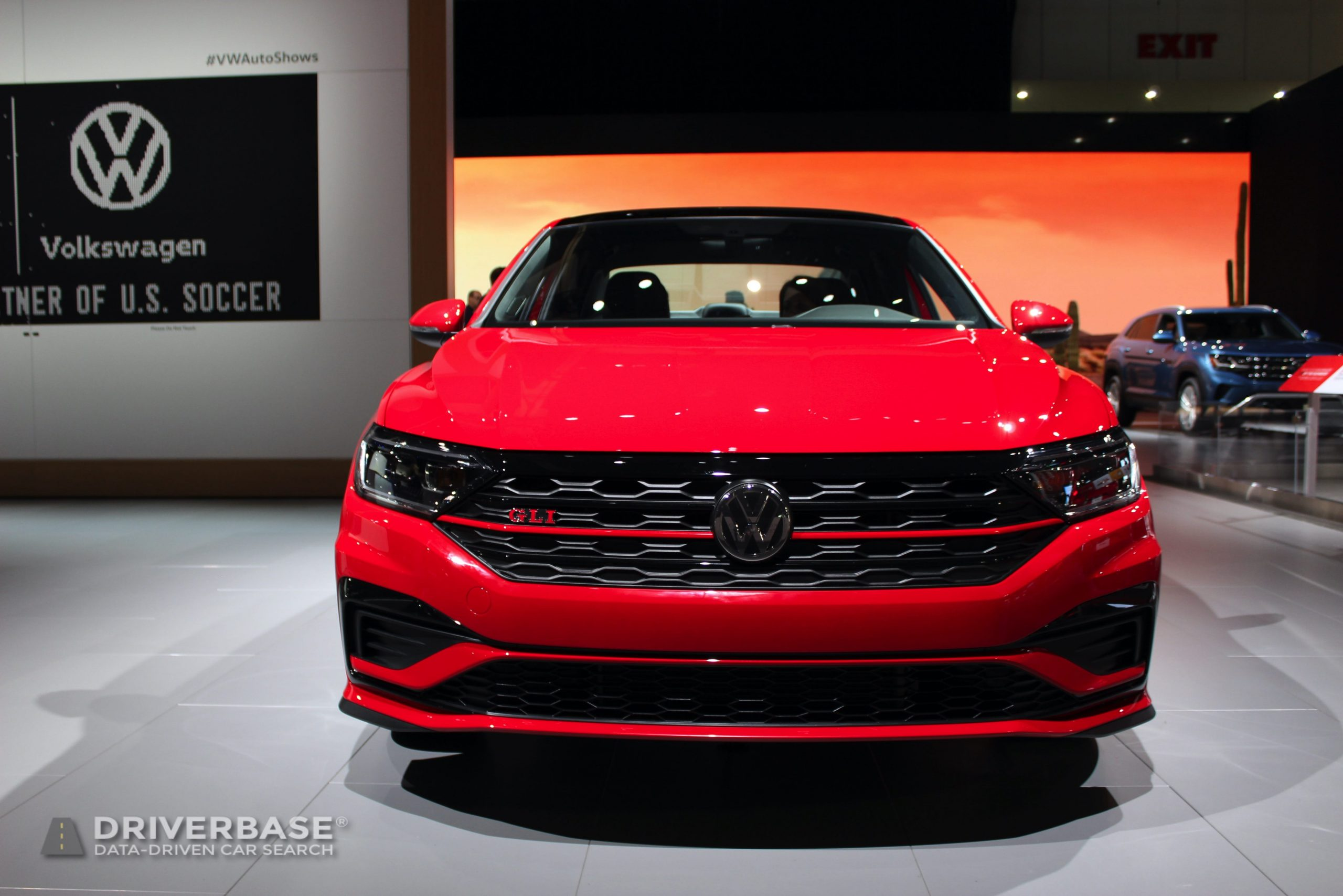 2020 Volkswagen Jetta GLI at the 2019 Los Angeles Auto Show