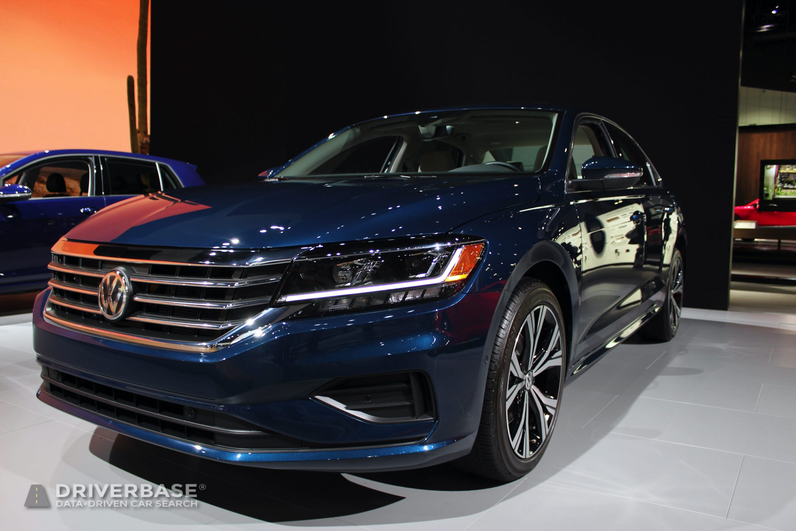 2020 Volkswagen Passat at the 2019 Los Angeles Auto Show