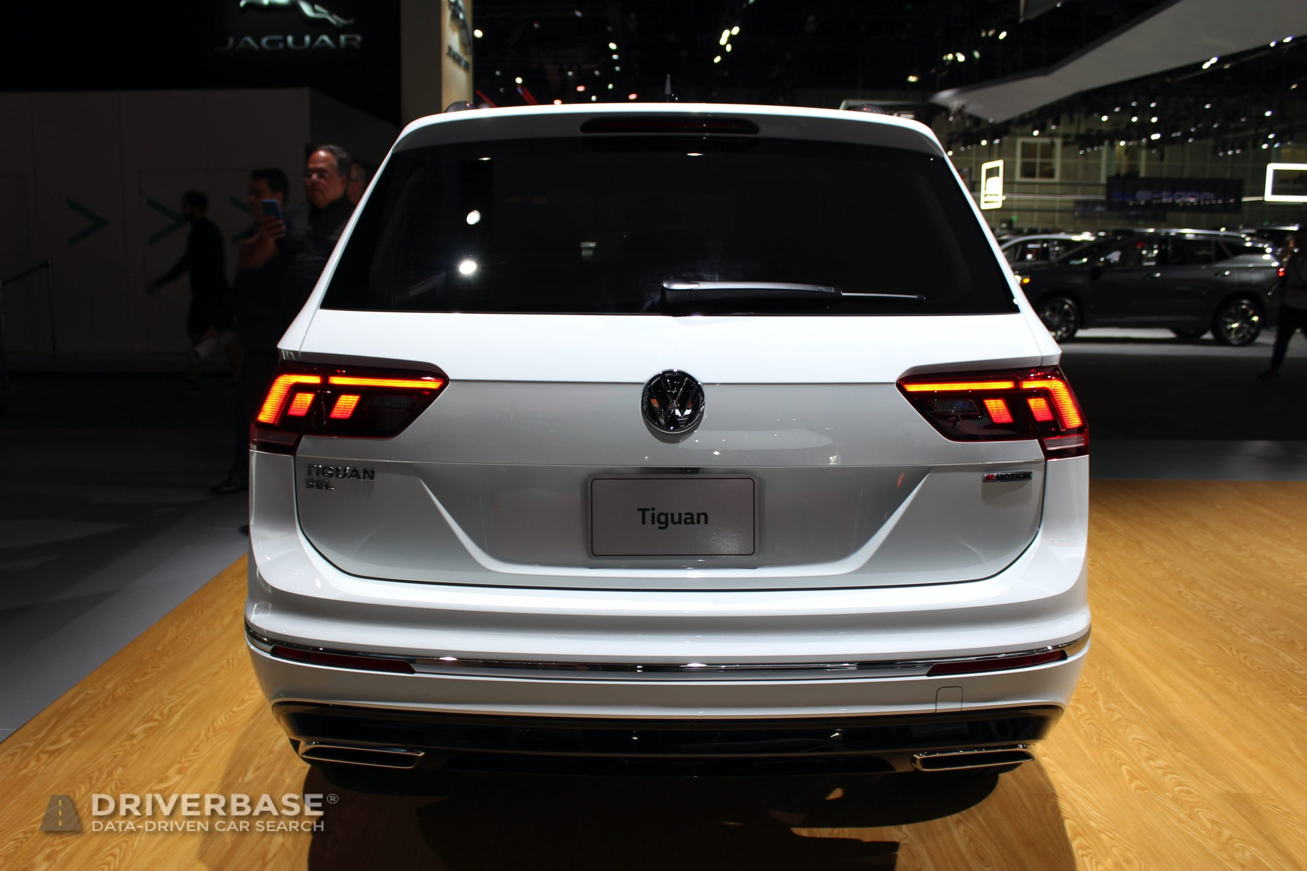 2020 Volkswagen Tiguan SEL Premium R-Line at the 2019 Los Angeles Auto Show