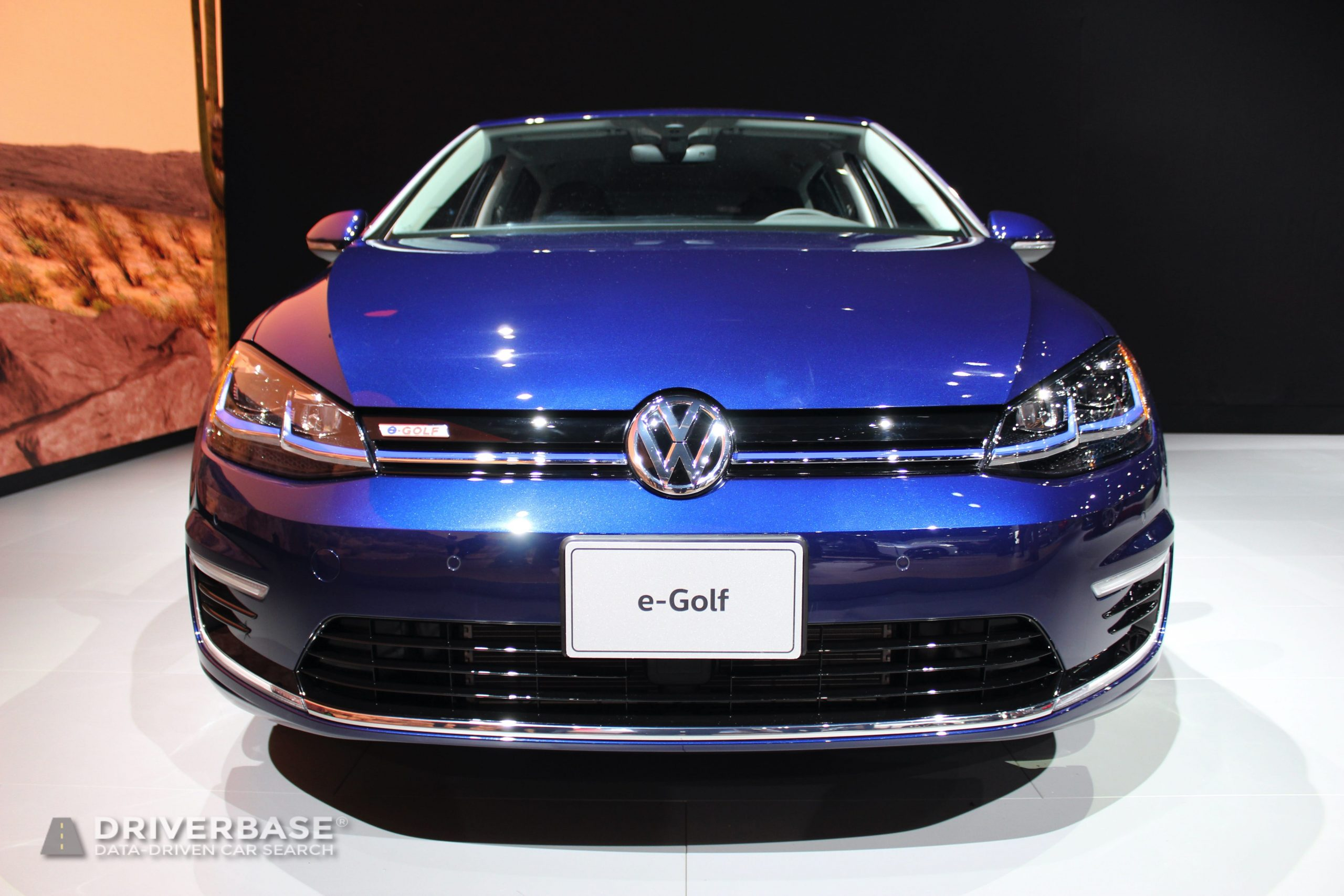 2020 Volkswagen eGolf SEL Premium at the 2019 Los Angeles Auto Show
