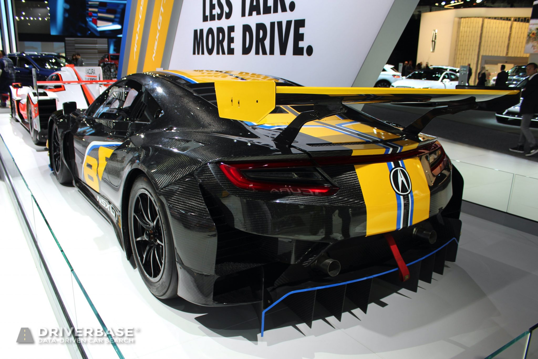 Acura NSX GT3 at the 2019 Los Angeles Auto Show