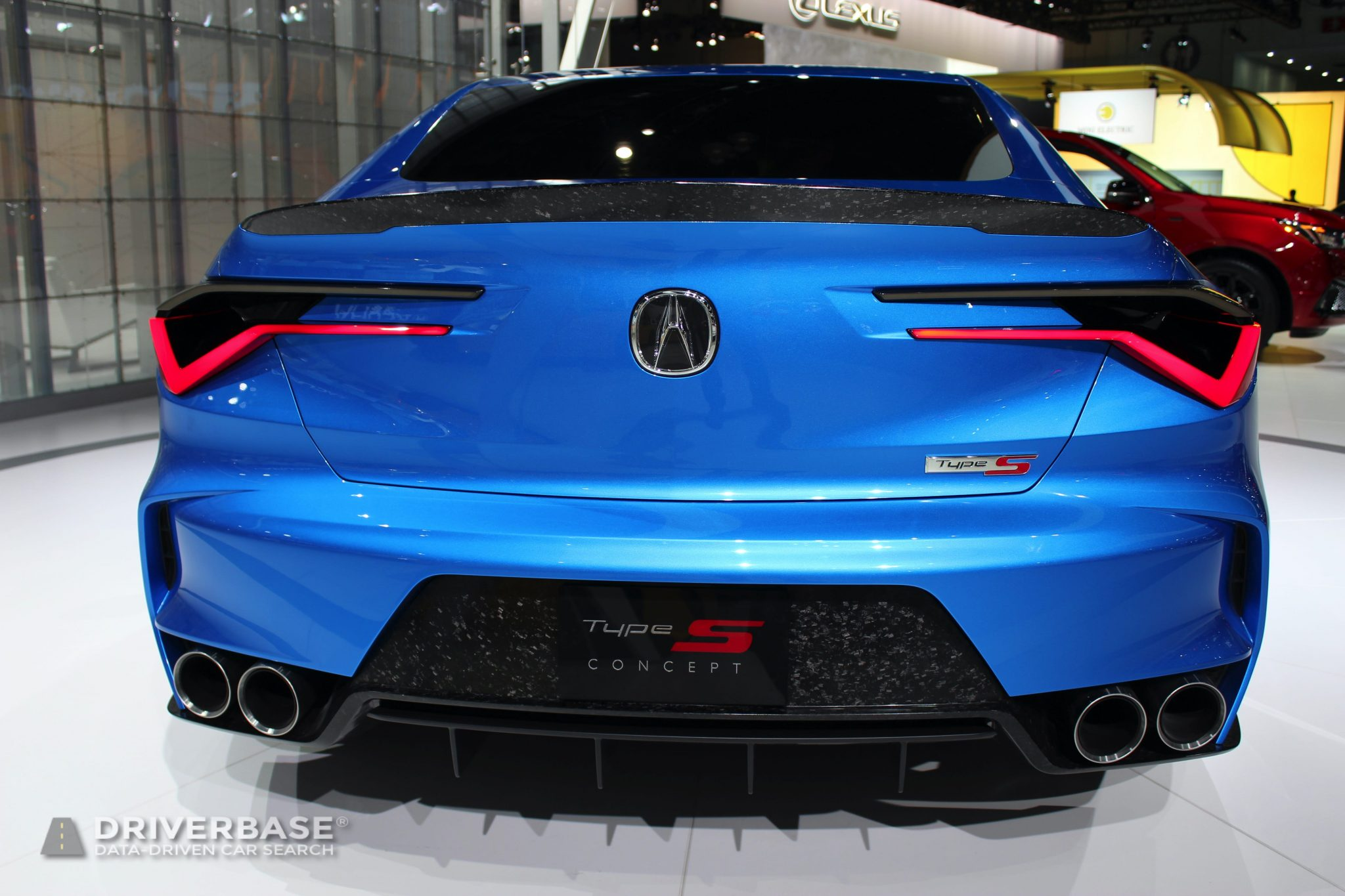 Acura Type S at the 2019 Los Angeles Auto Show