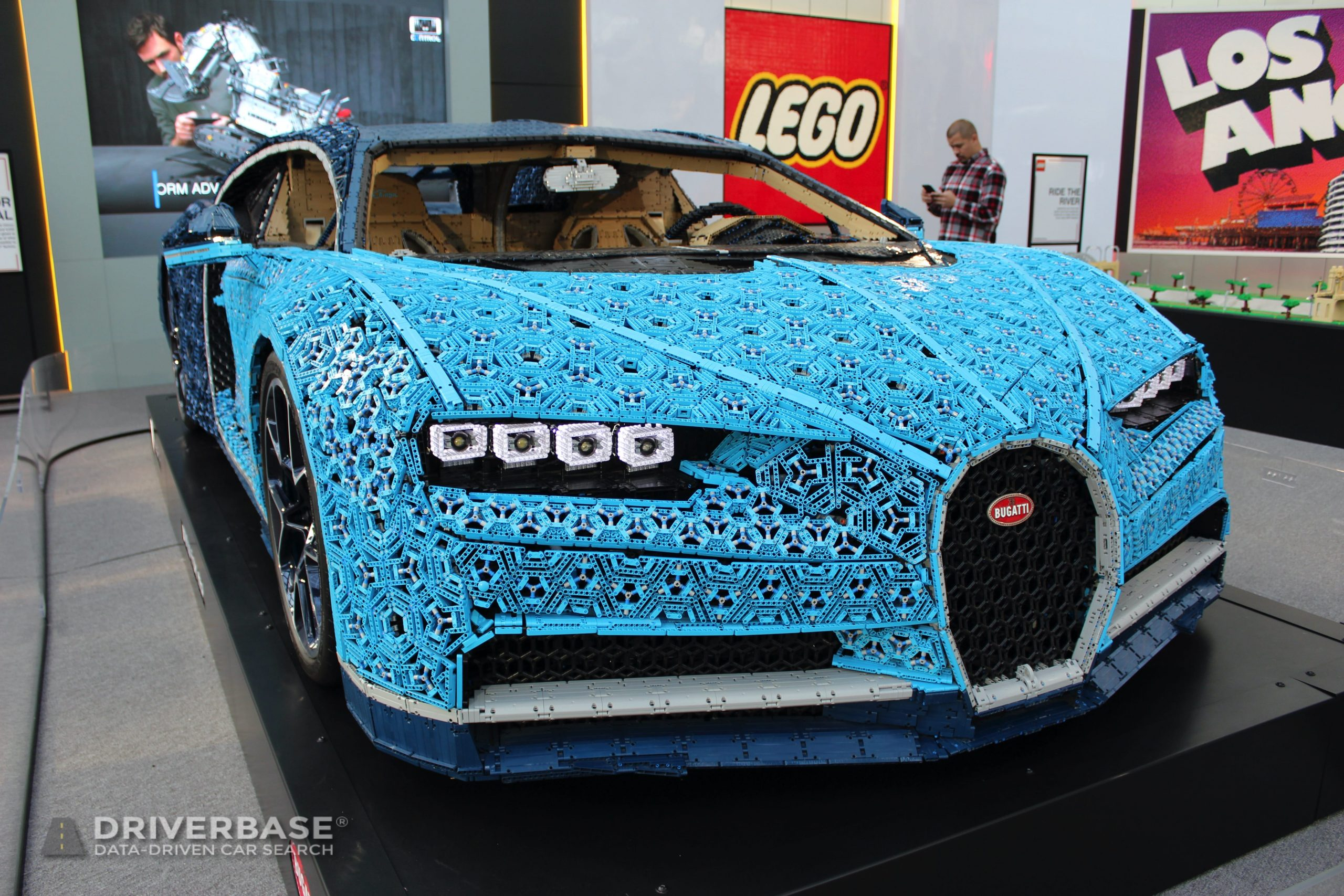 Lego Bugatti at the 2019 Los Angeles Auto Show